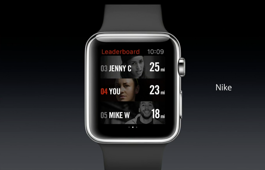 apple watch apps features nike