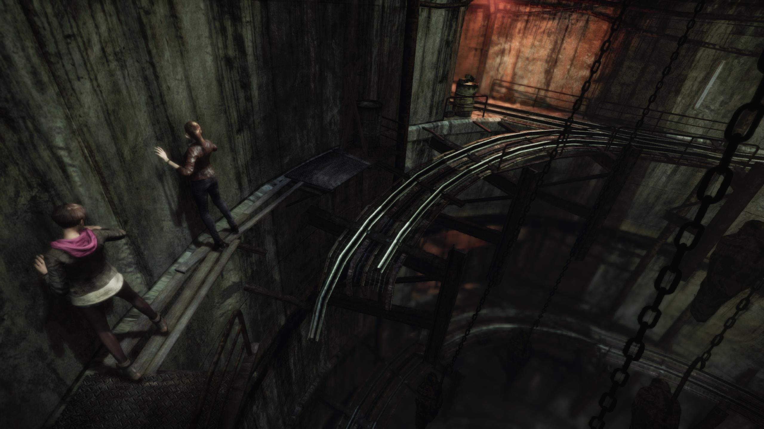 RE Revelations wall crawl