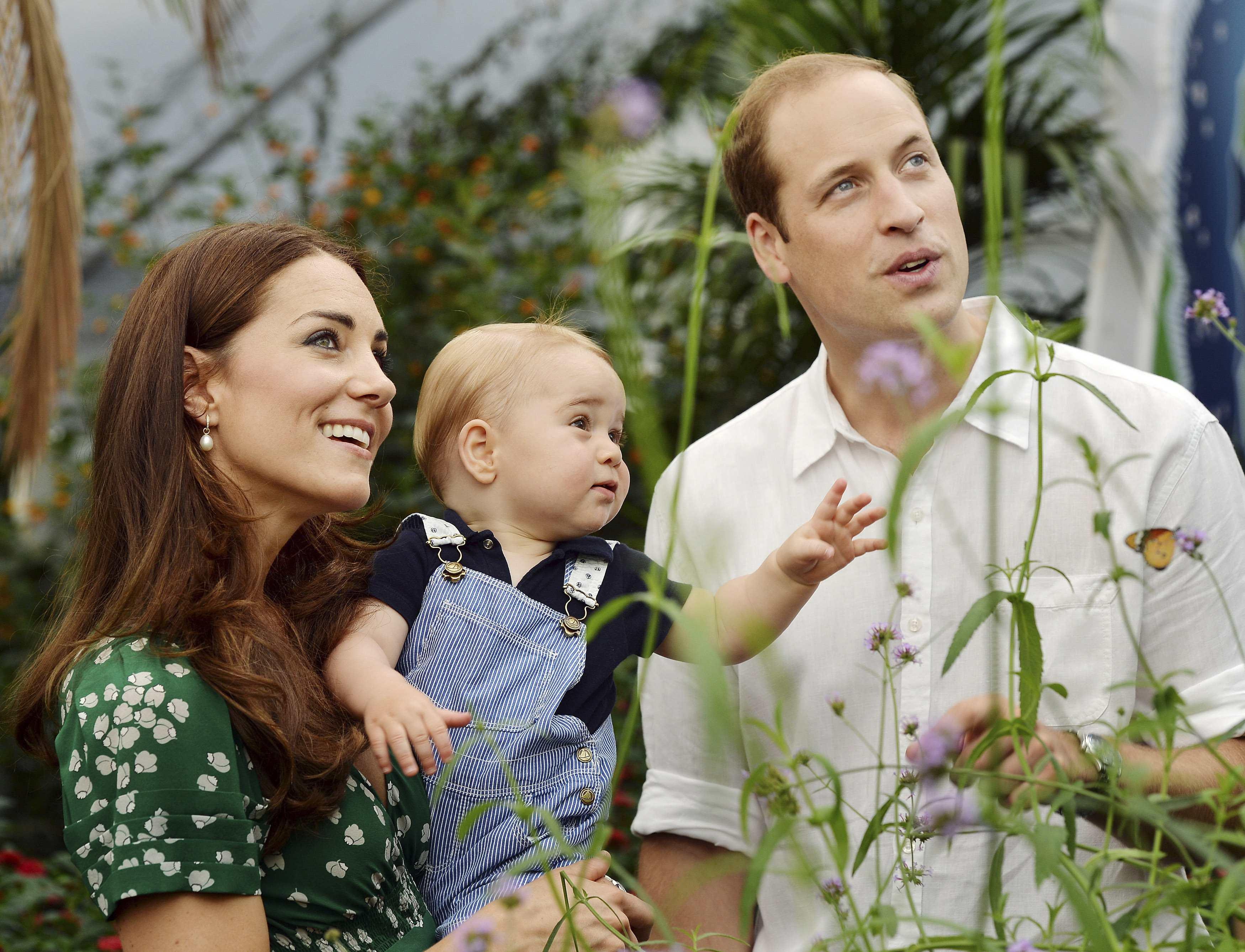 Prince George Will And Kate NYC