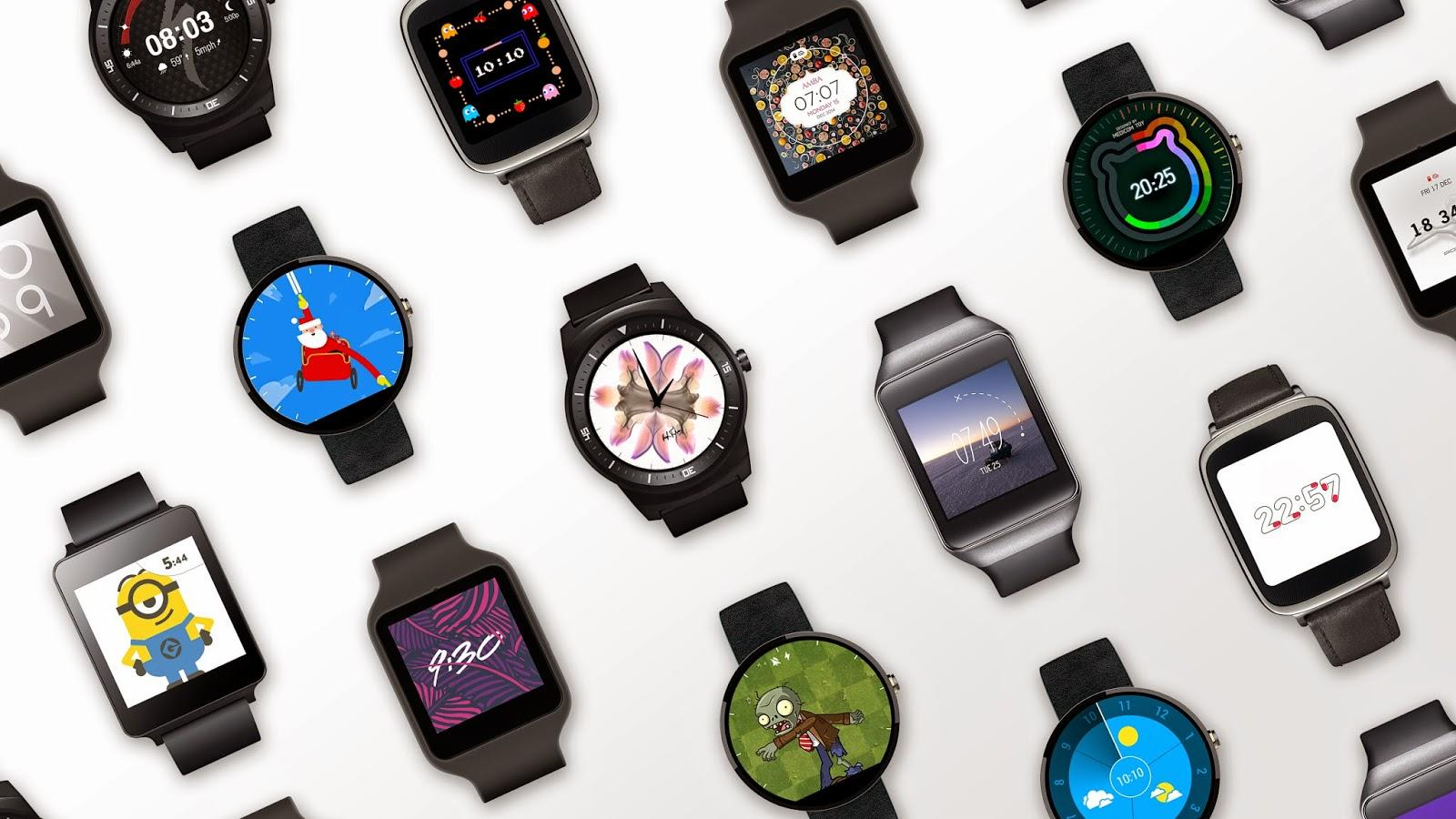 android wear lollipop update watch faces