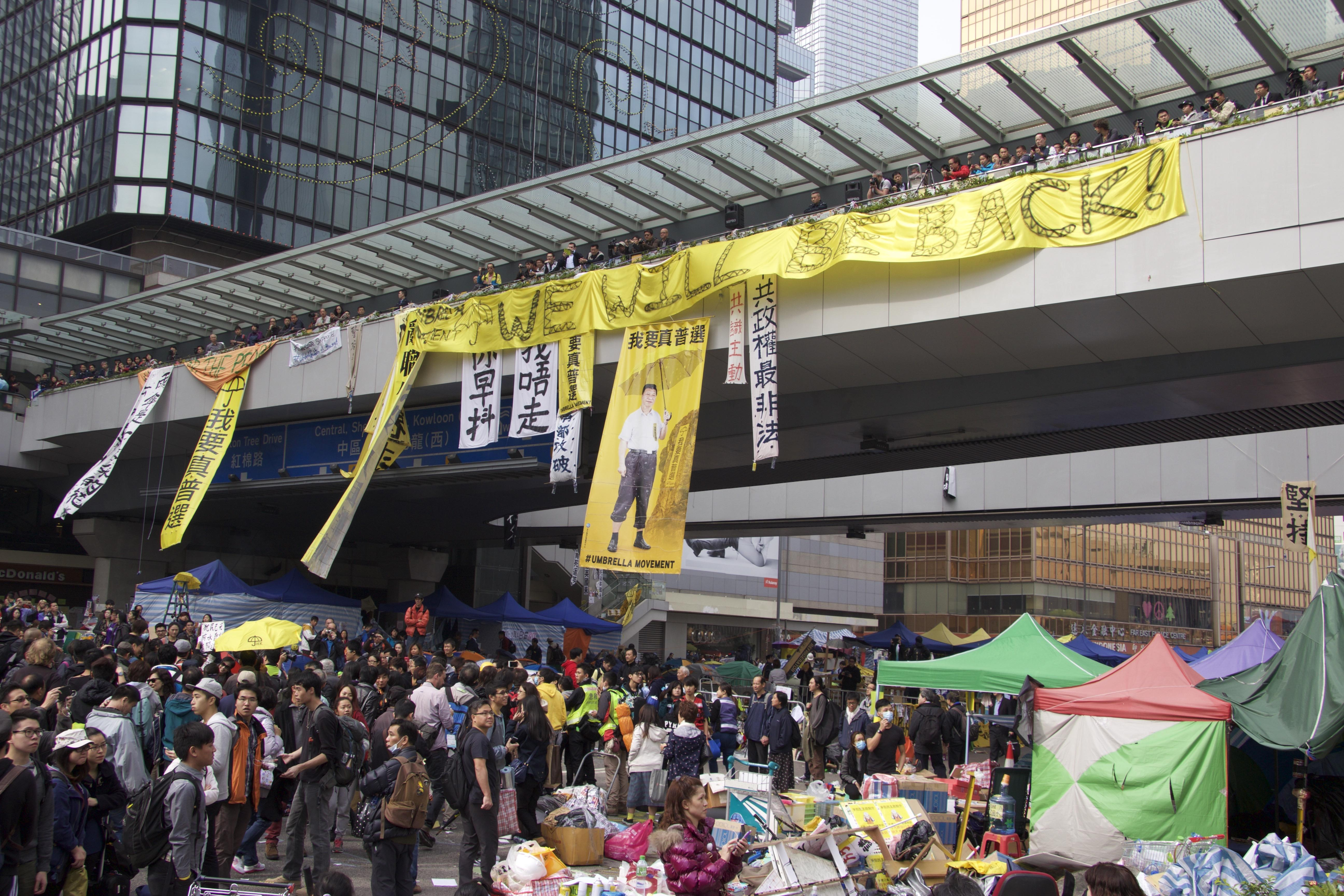Occupy Central clearance