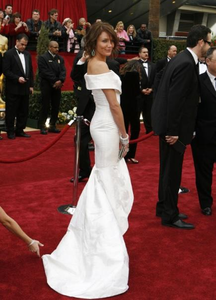 Cameron Diaz Wedding Dress Pictures Havent Been Released But Red Carpet Photos Tell Us What