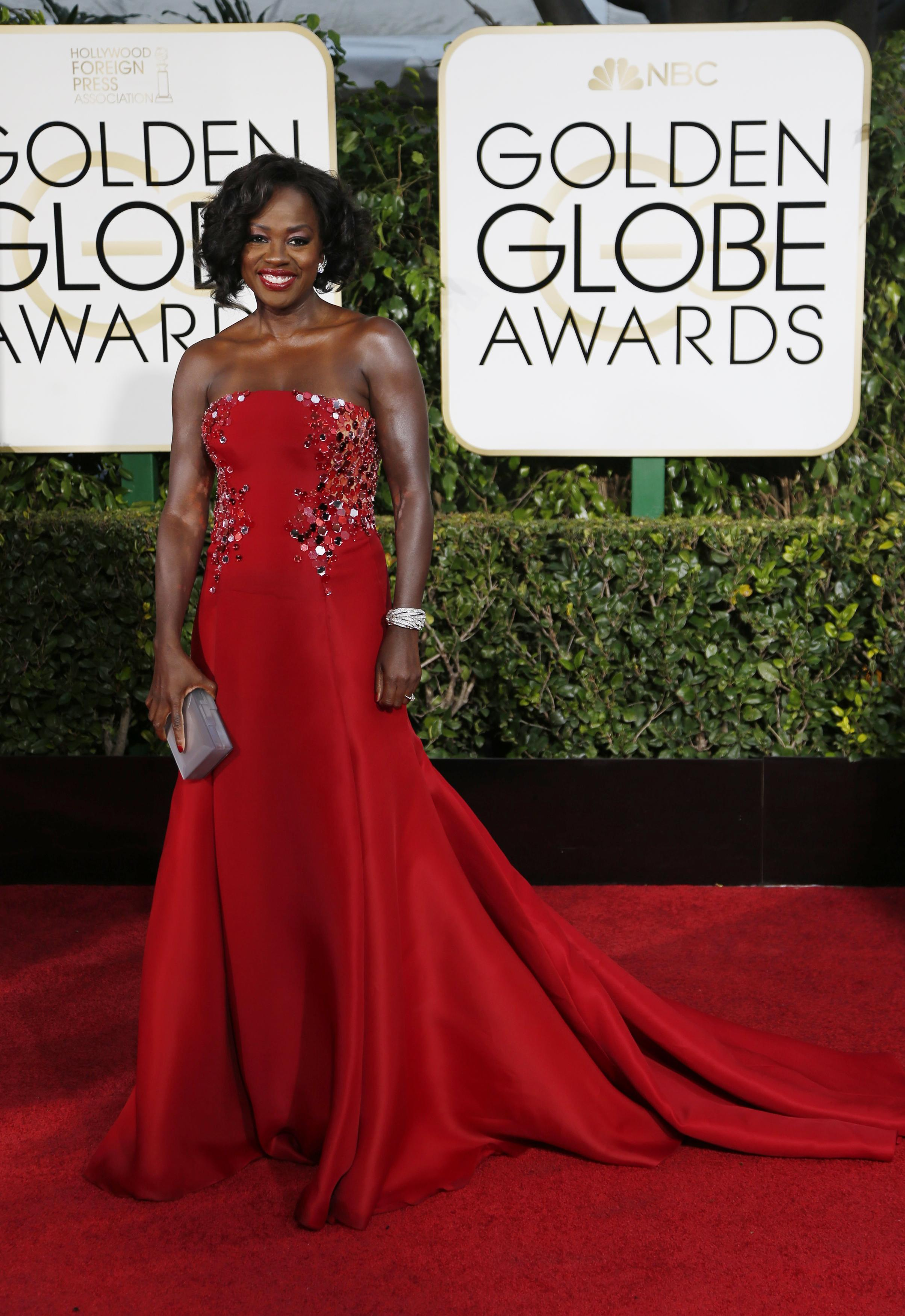 Golden Globes 2015 Red Carpet Trends: From Bold Red Looks ...