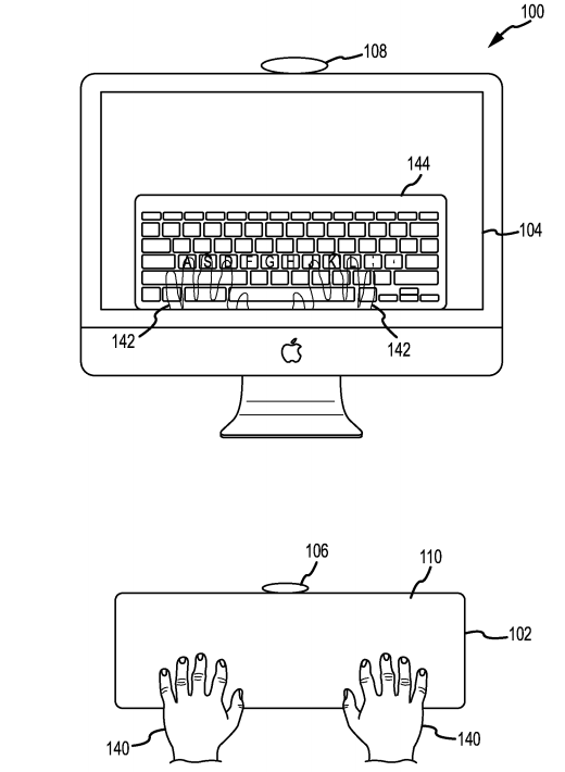 Apple Patent Application Keyboard