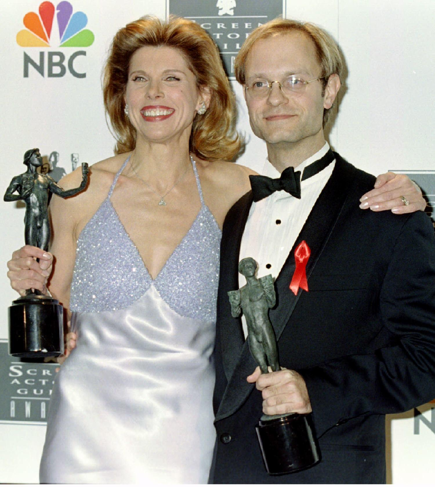 Christine Baranski and David Hyde Pierce 1996