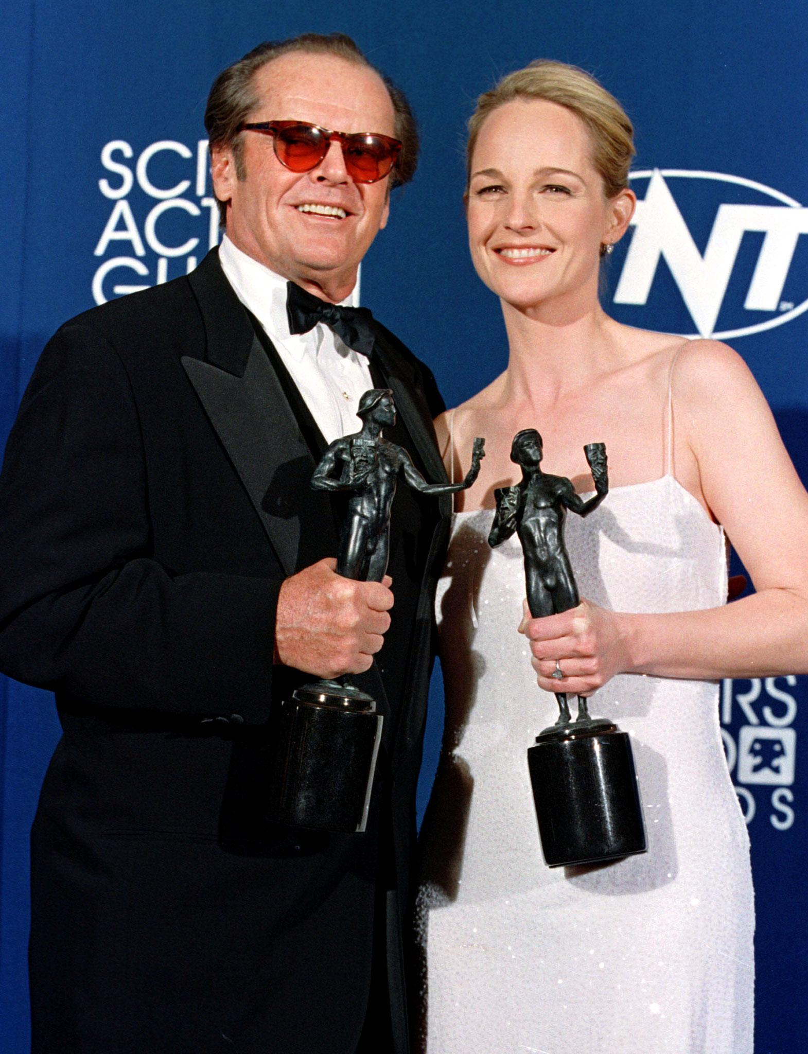 Jack Nicholson and Helen Hunt 1998