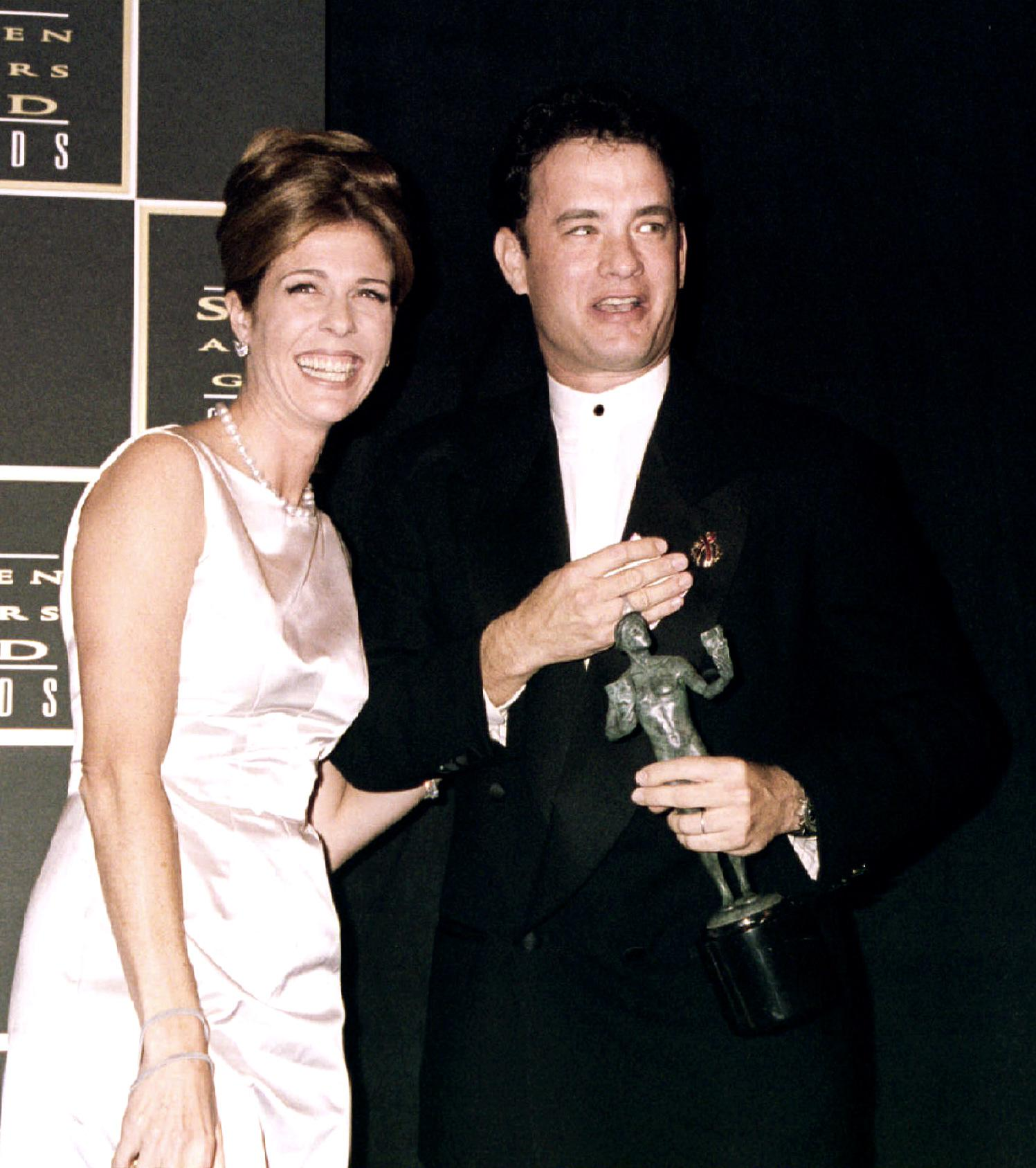 Tom Hanks Rita Wilson 1995