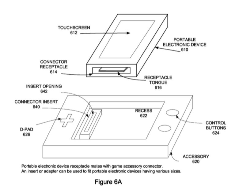Apple Gaming Accessory Patent