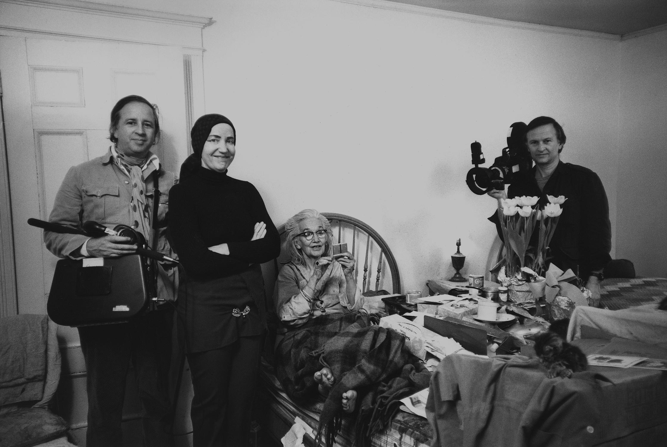 On Grey Gardens Albert Maysles And Editing One Of The