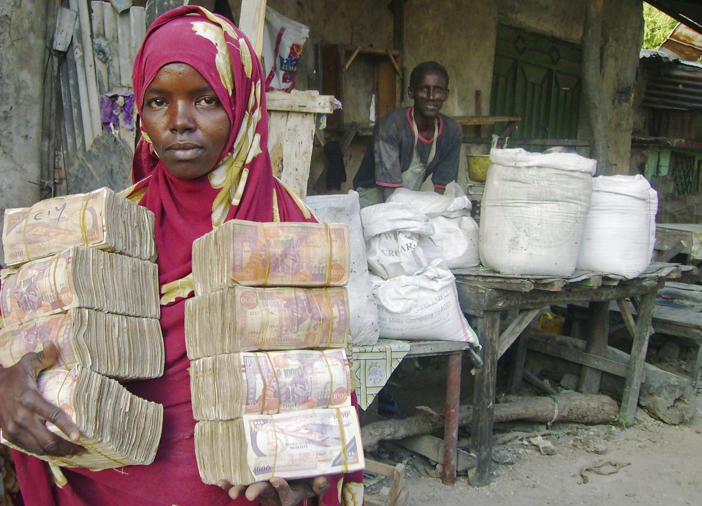 an analysis of the importance of xawilaad and remittances for the somali economy