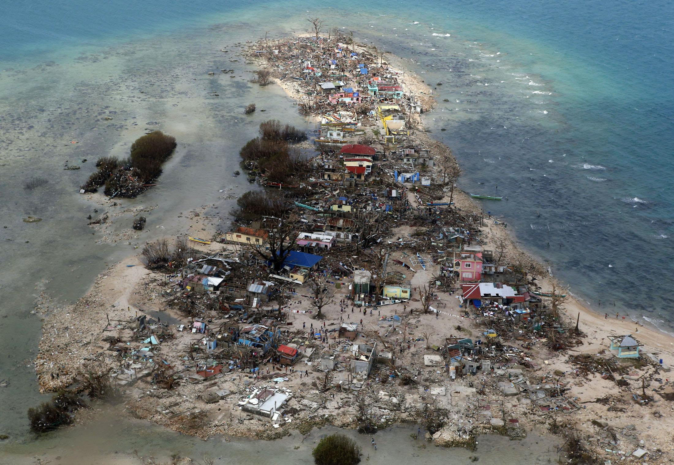 Typhoon Haiyan Climate Change