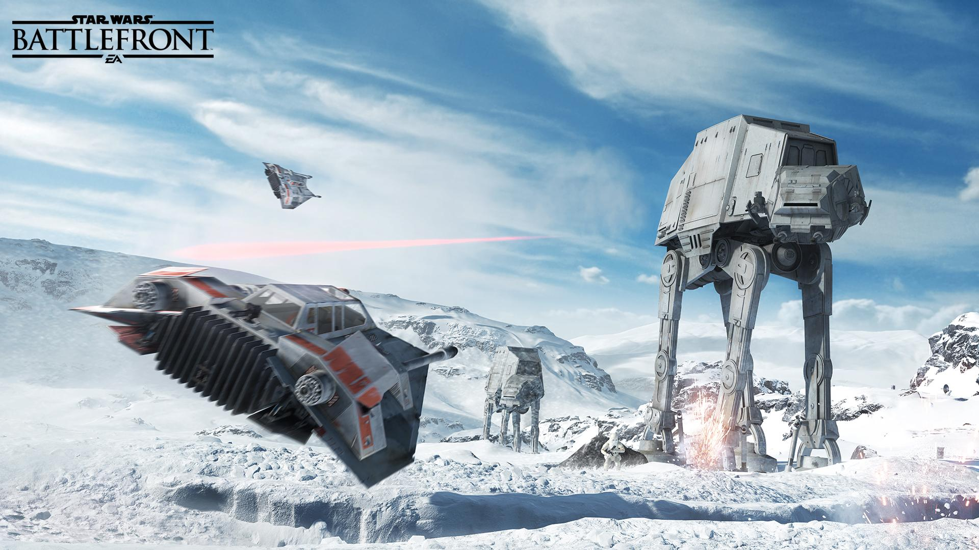 Star Wars Battlefront Multiplayer Footage