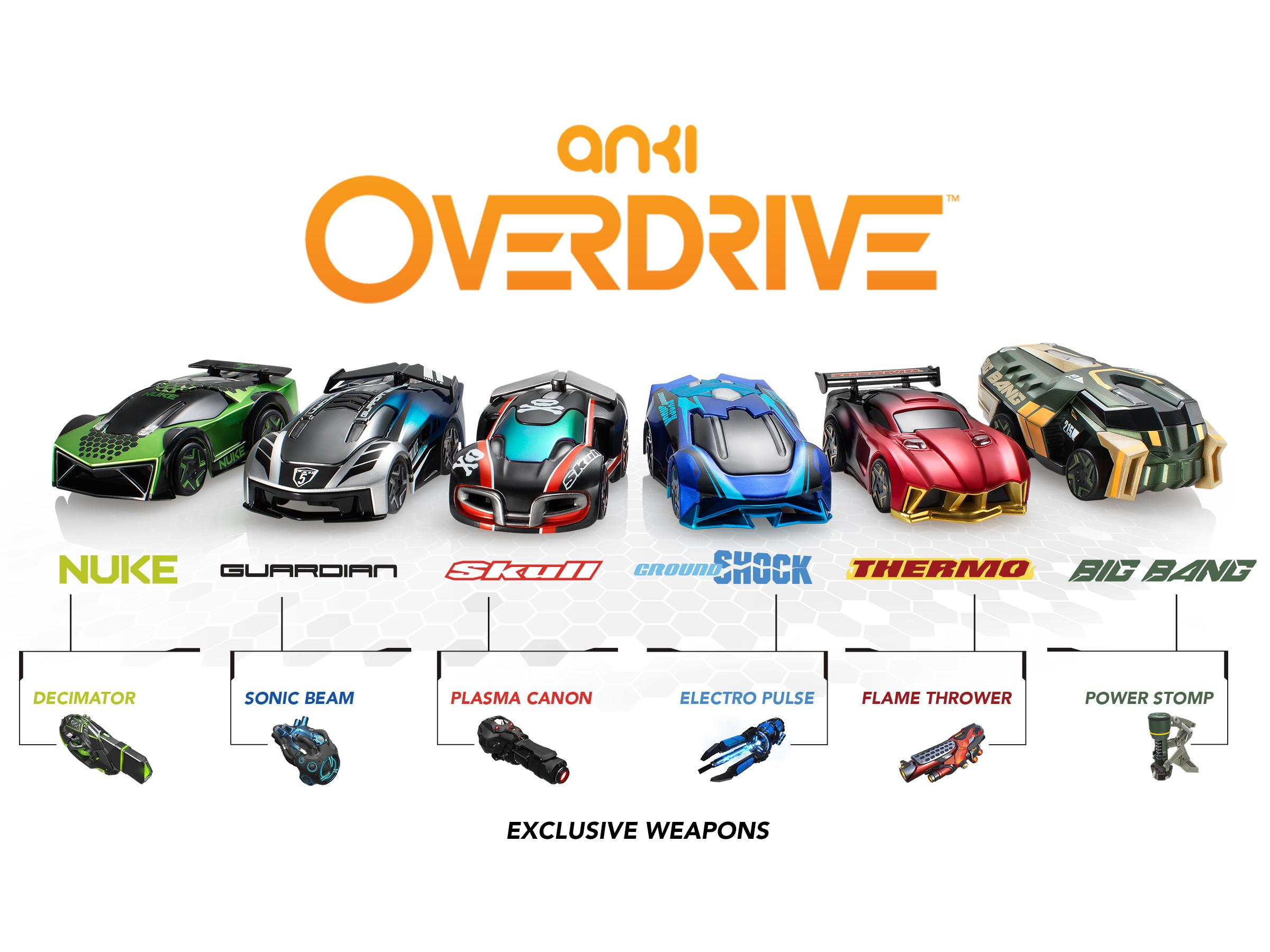 Anki OVERDRIVE Cars and Weapons