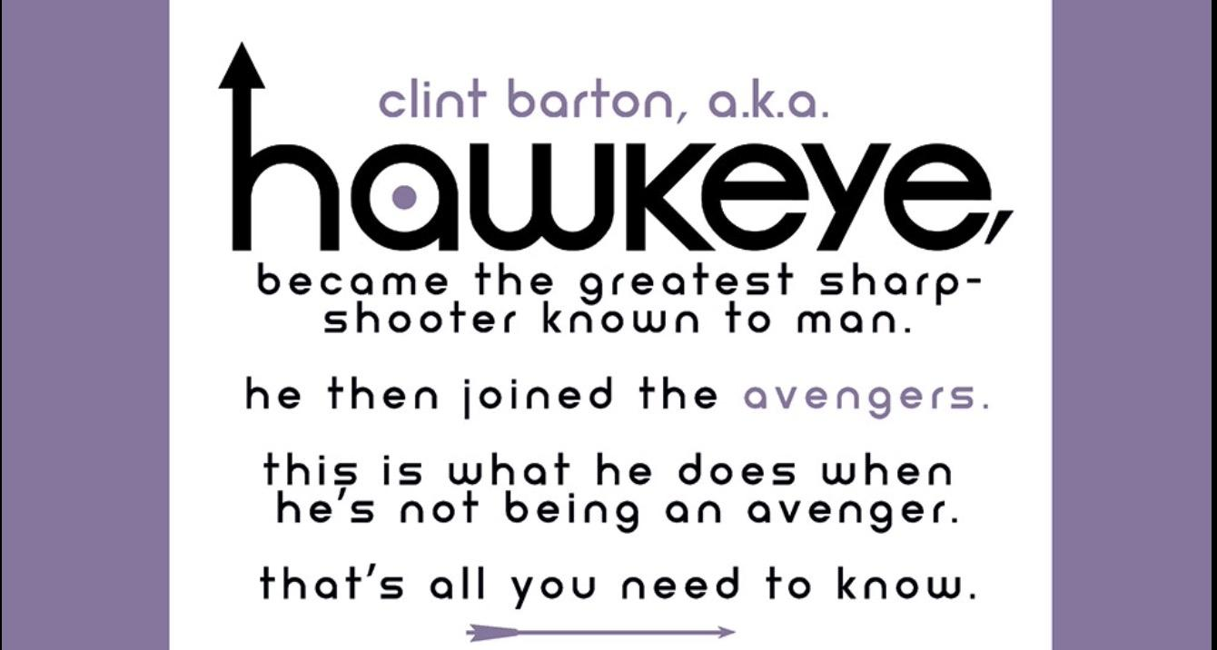 Hawkeye Issue #1