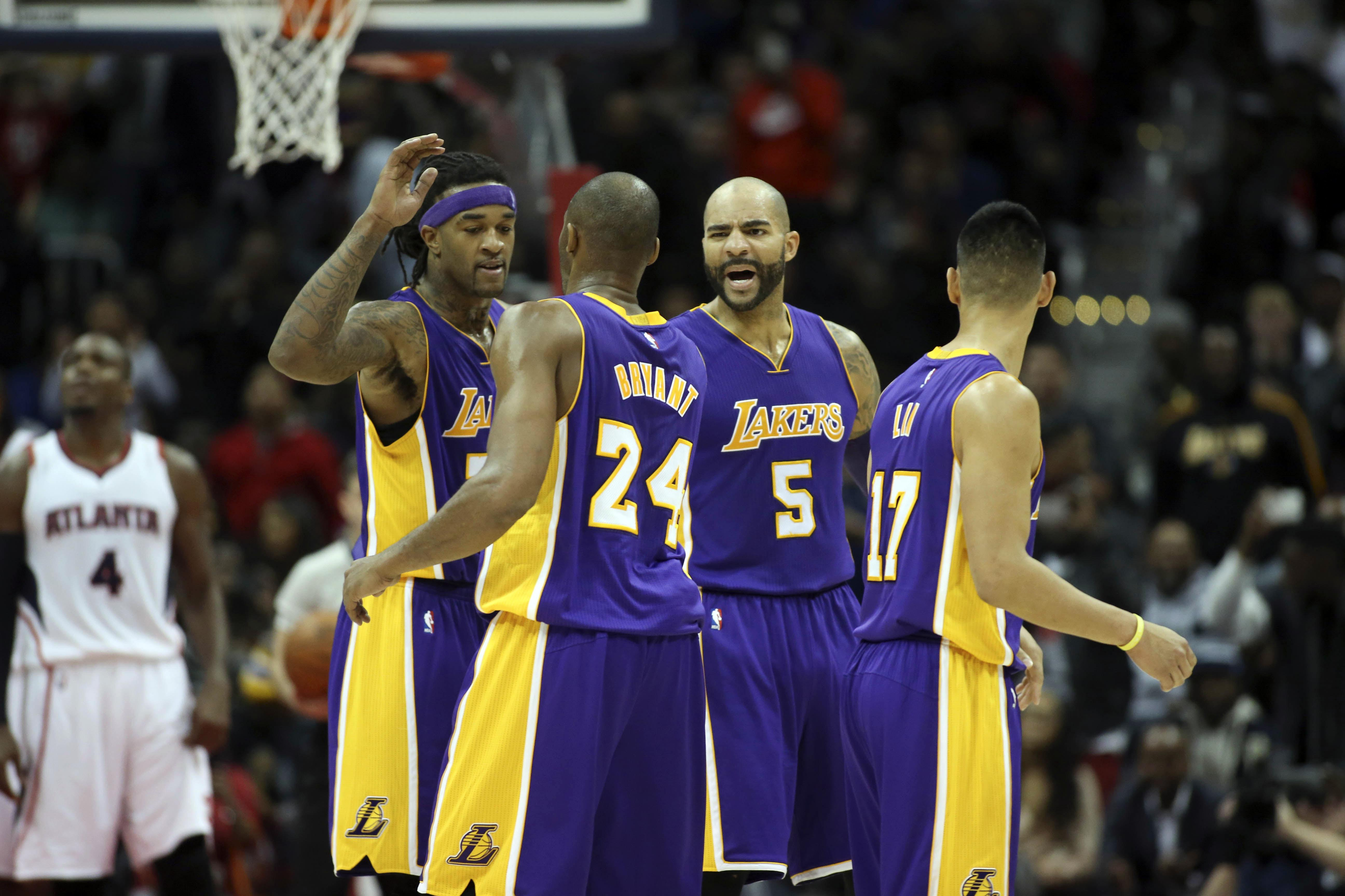 lakers teammates