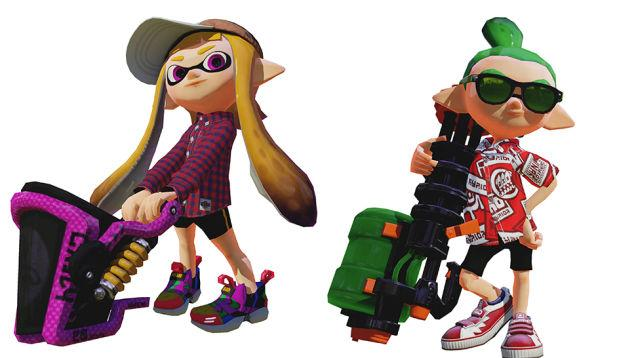 Splatoon Update