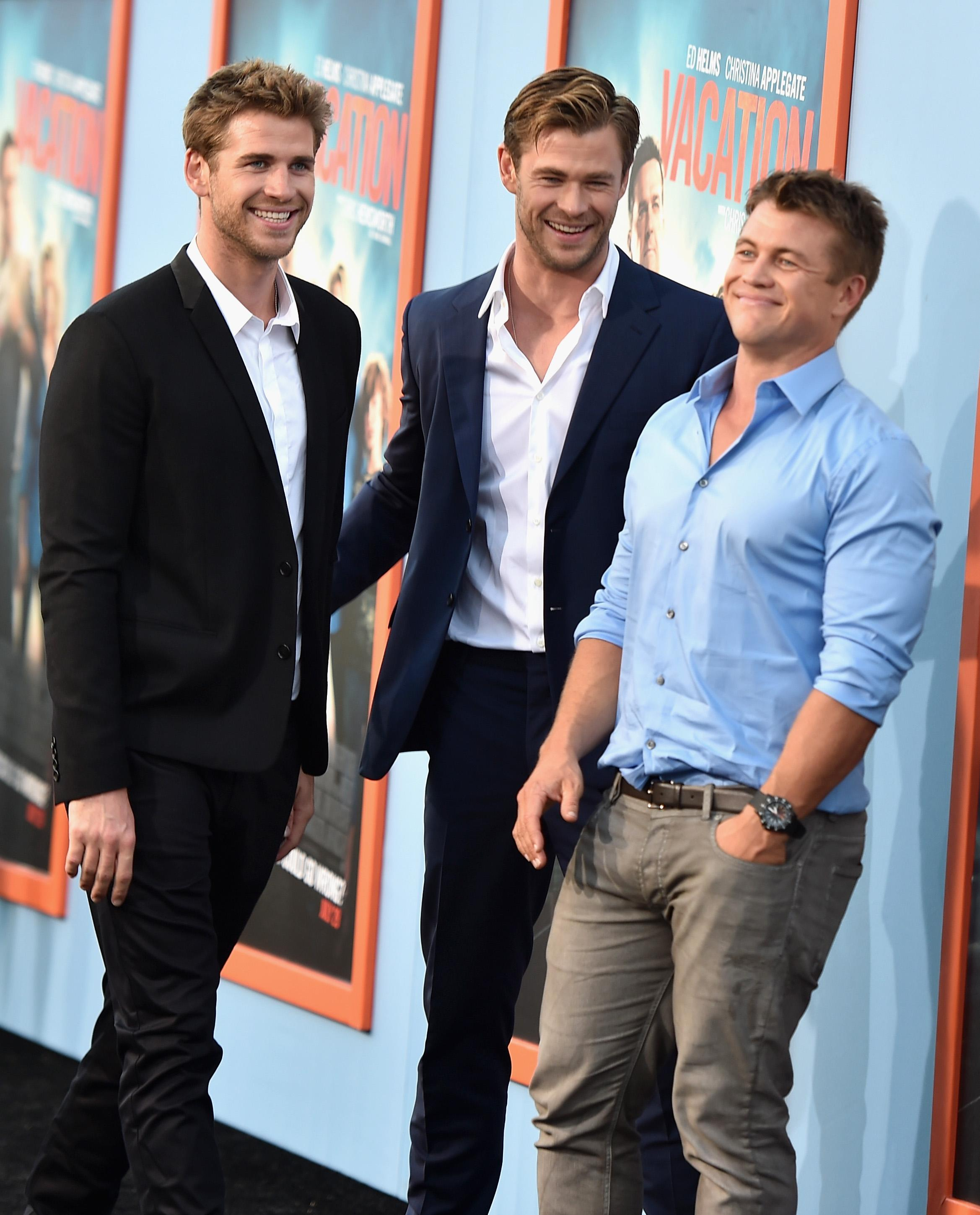 hemsworth brothers together