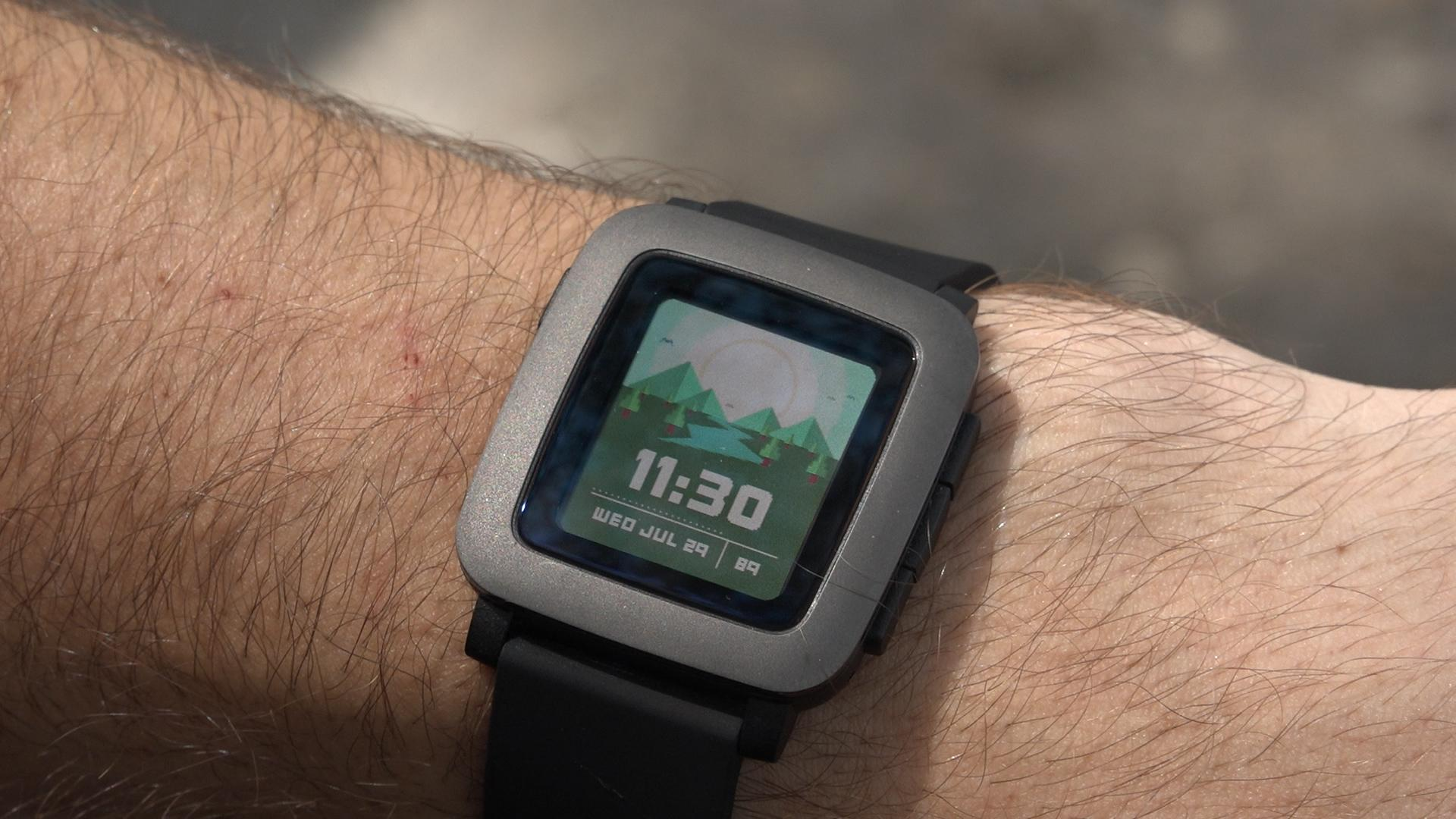 Pebble Time Face 2