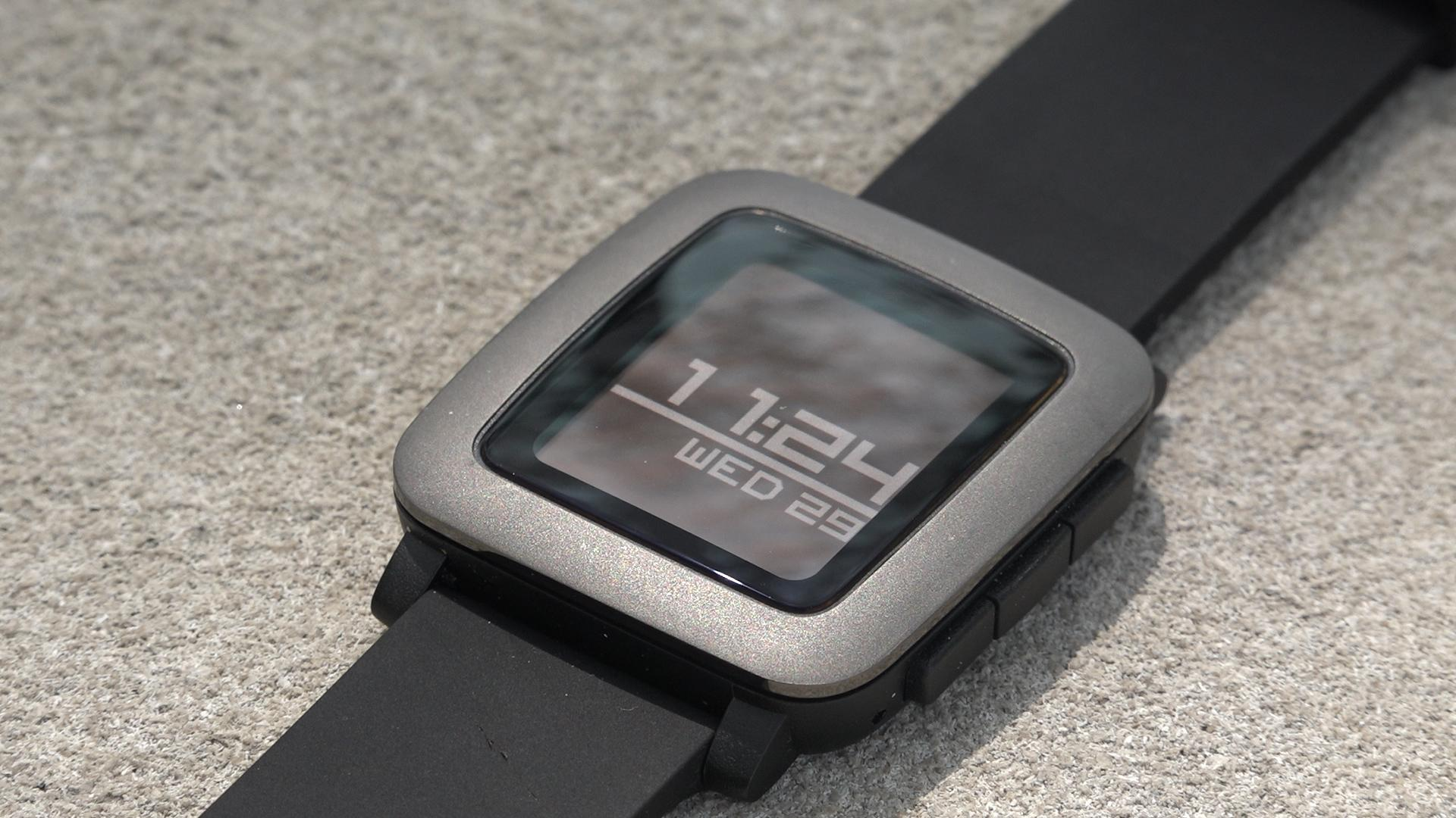 Pebble Time Face