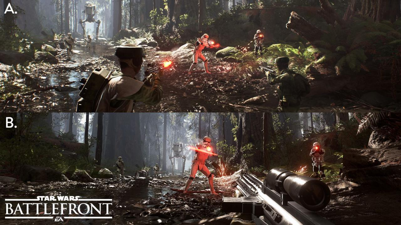 Star Wars Battlefront Split Screen