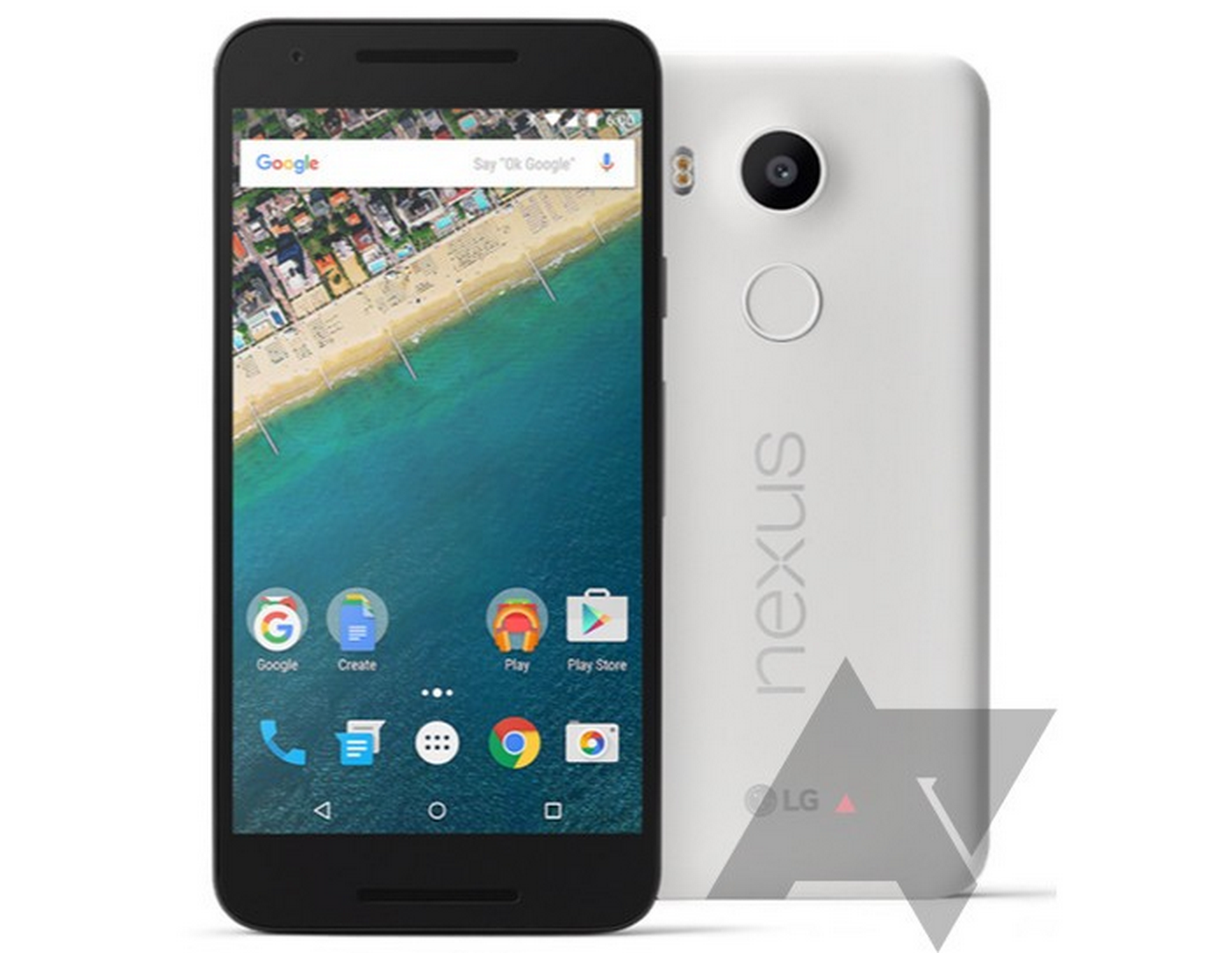 Nexus 5X Leaked Press Renders
