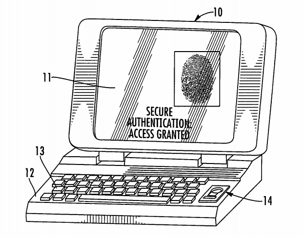 fingerprint reader apple