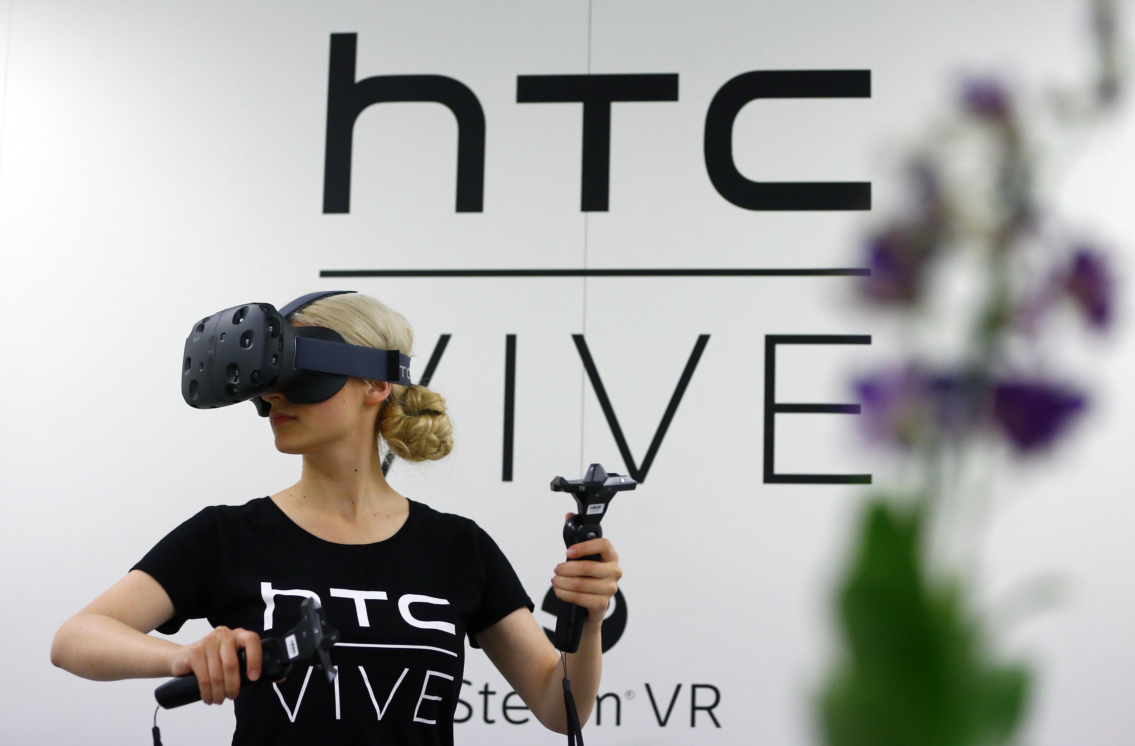 HTC Vive announcement at CES 2016