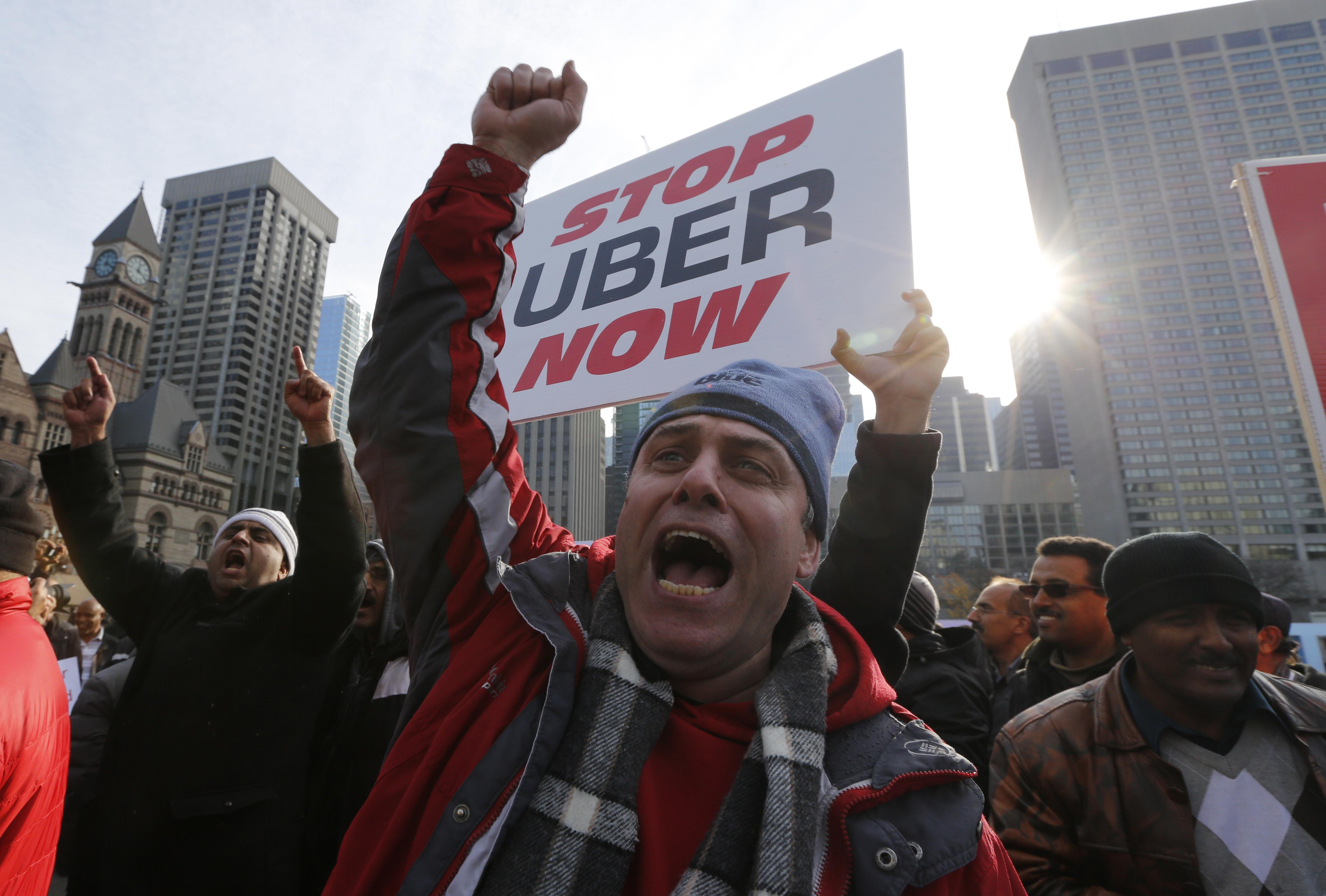 the legal issue of worker classification in the uber transportation service City of toronto issues private transportation company licence to uber the united taxi workers' association ontario law firm files class-action lawsuit against uber x, uber xl on behalf of taxi and limo drivers.