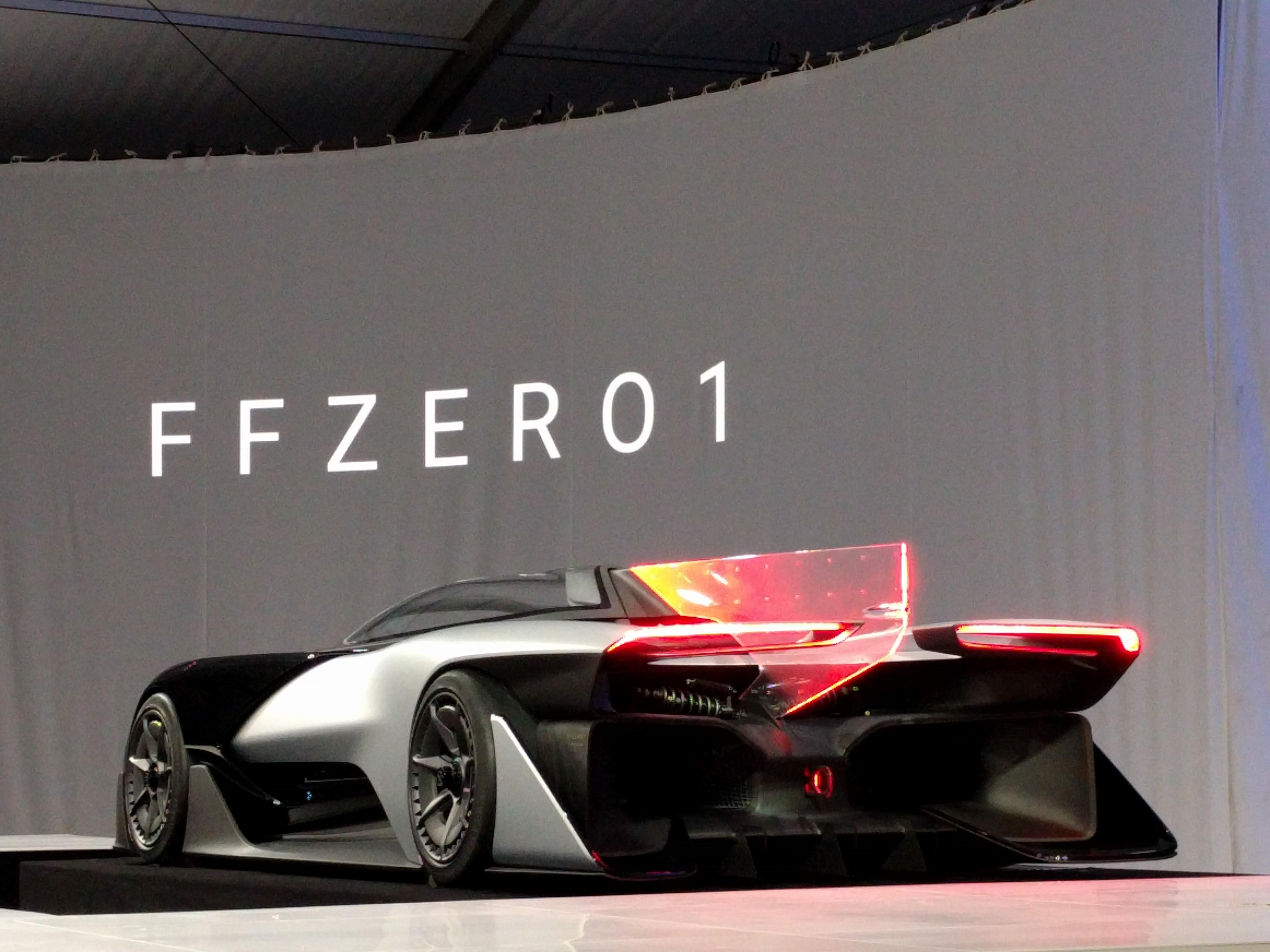 Faraday Future Zero 1