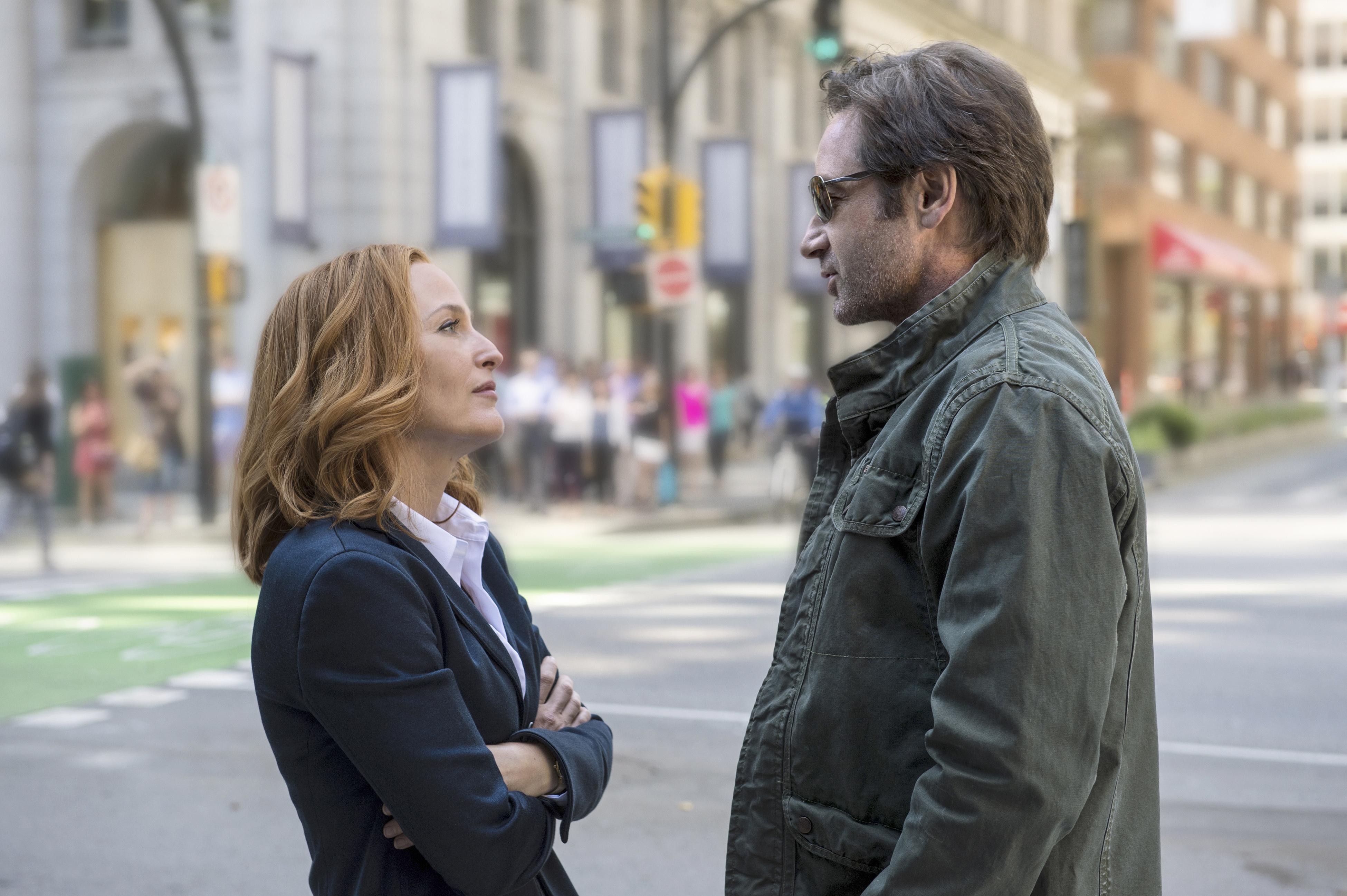 Scully and Mulder X-Files Finale