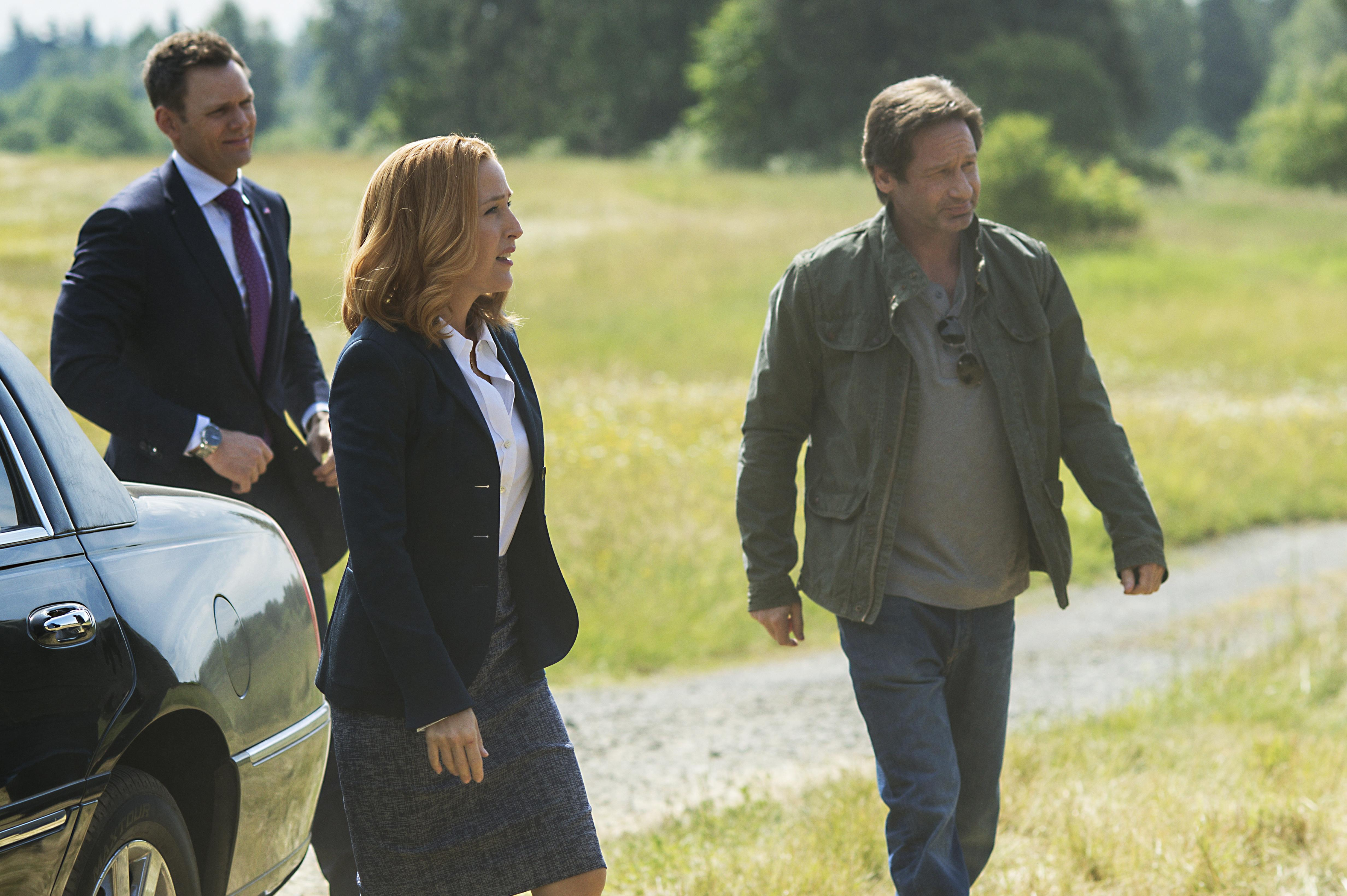 The X-Files Miniseries Premiere