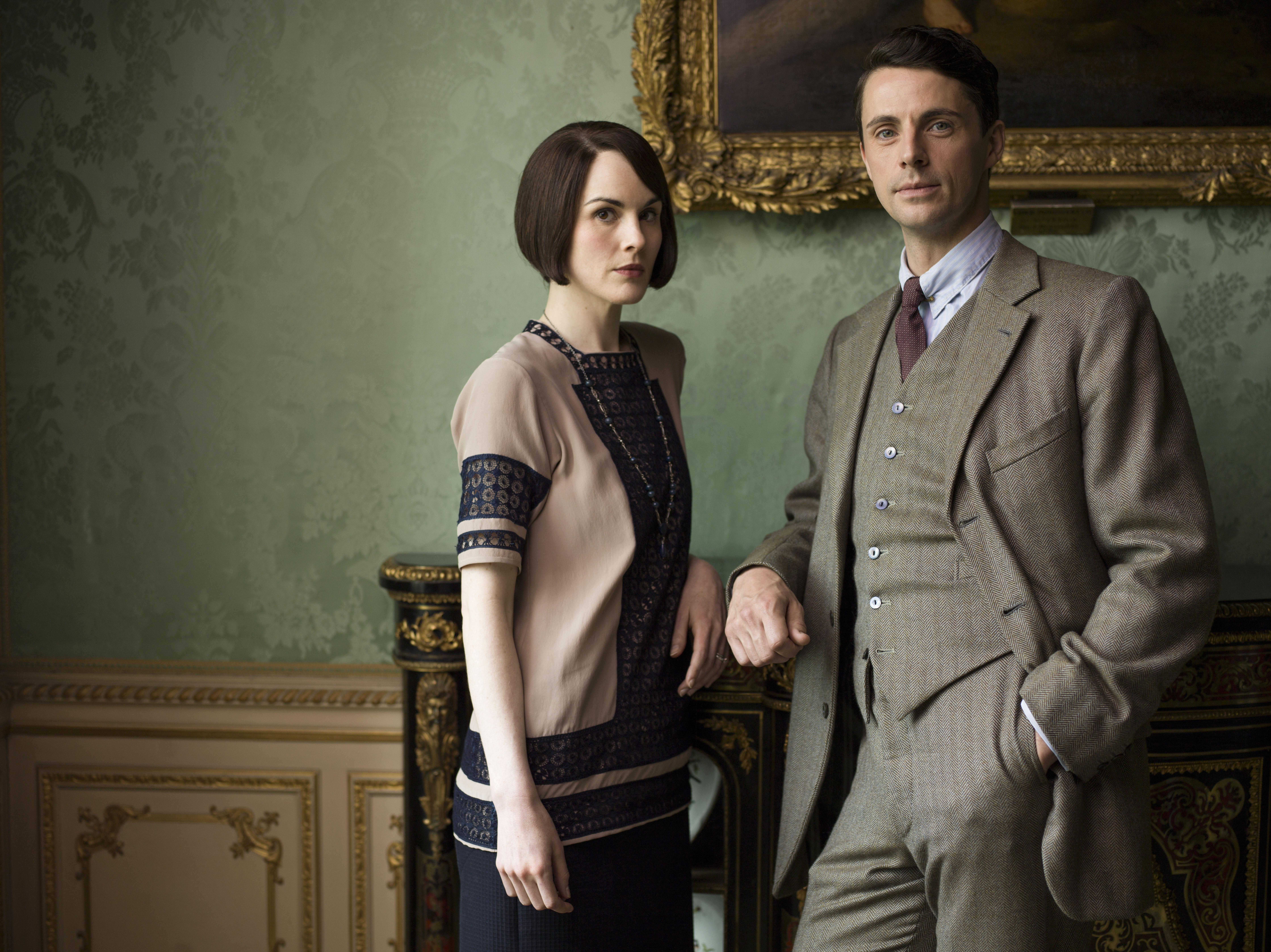 Downton Mary and Henry