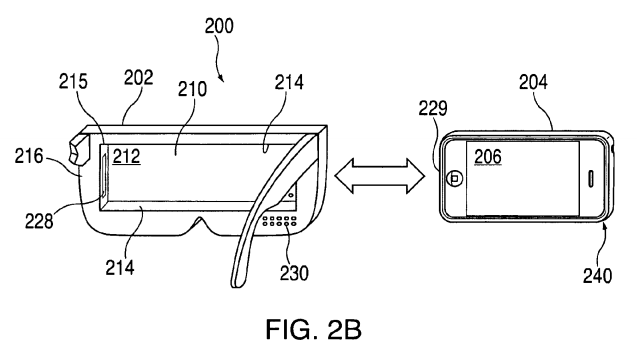 Apple VR Head-mounted iPhone