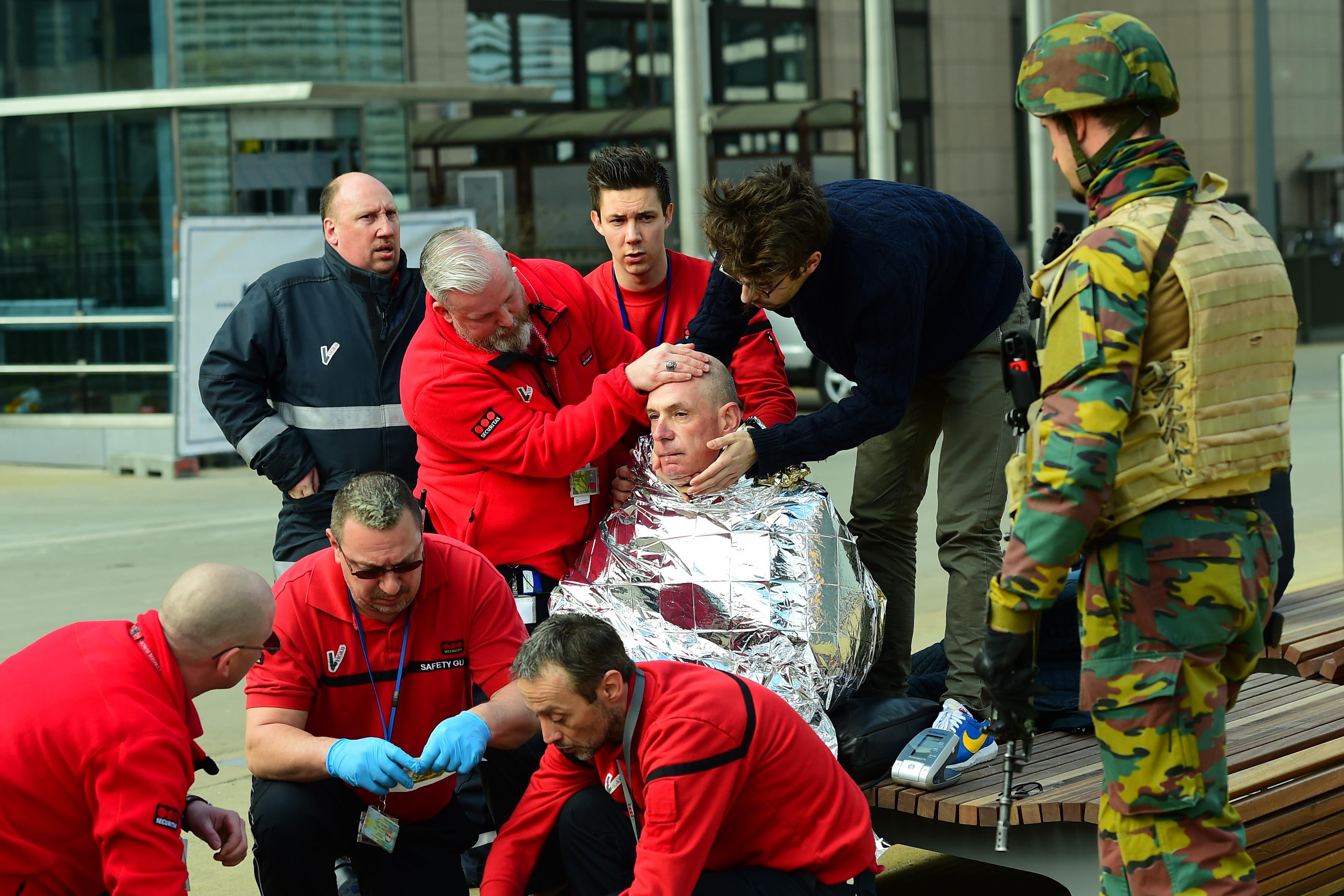 Brussels victim