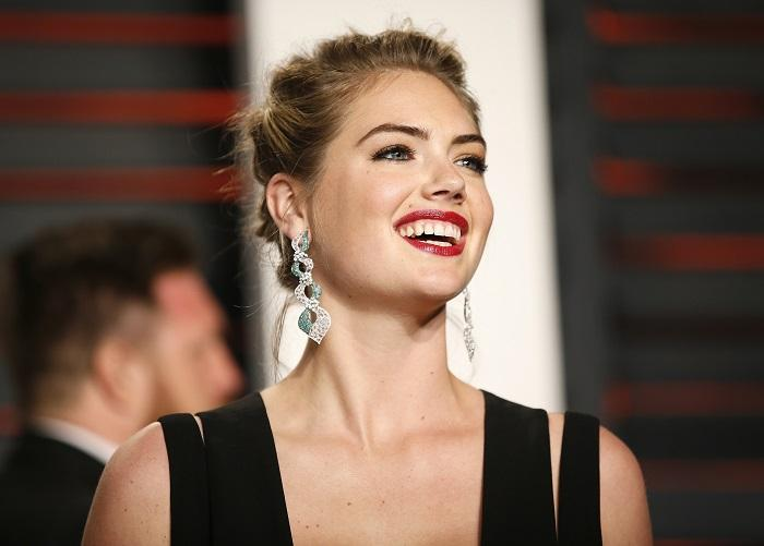 Kate Upton Wears See-Through Dress During Birthday Party With Justin ...