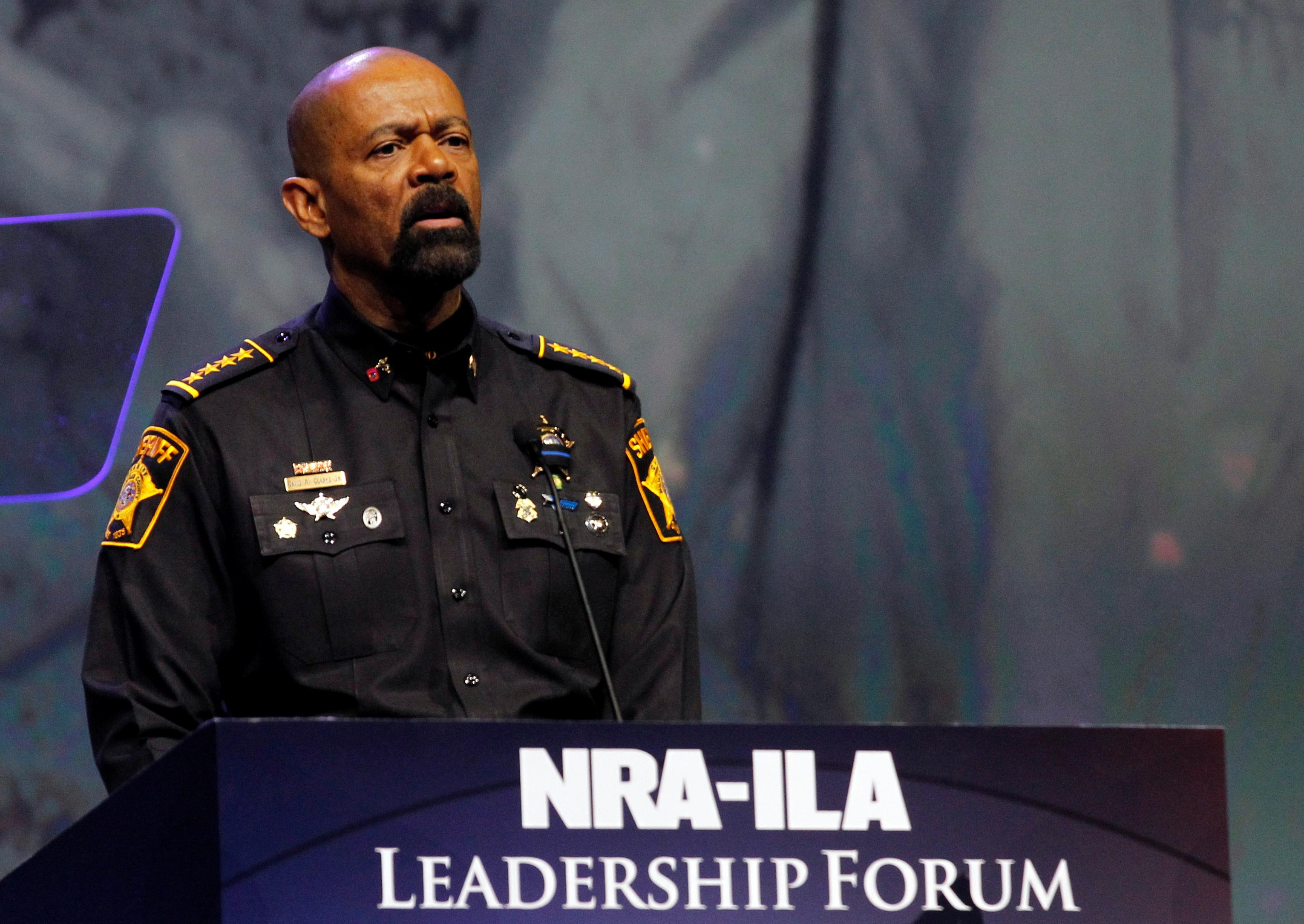 Milwaukee County Sheriff David Clarke a big hit at RNC