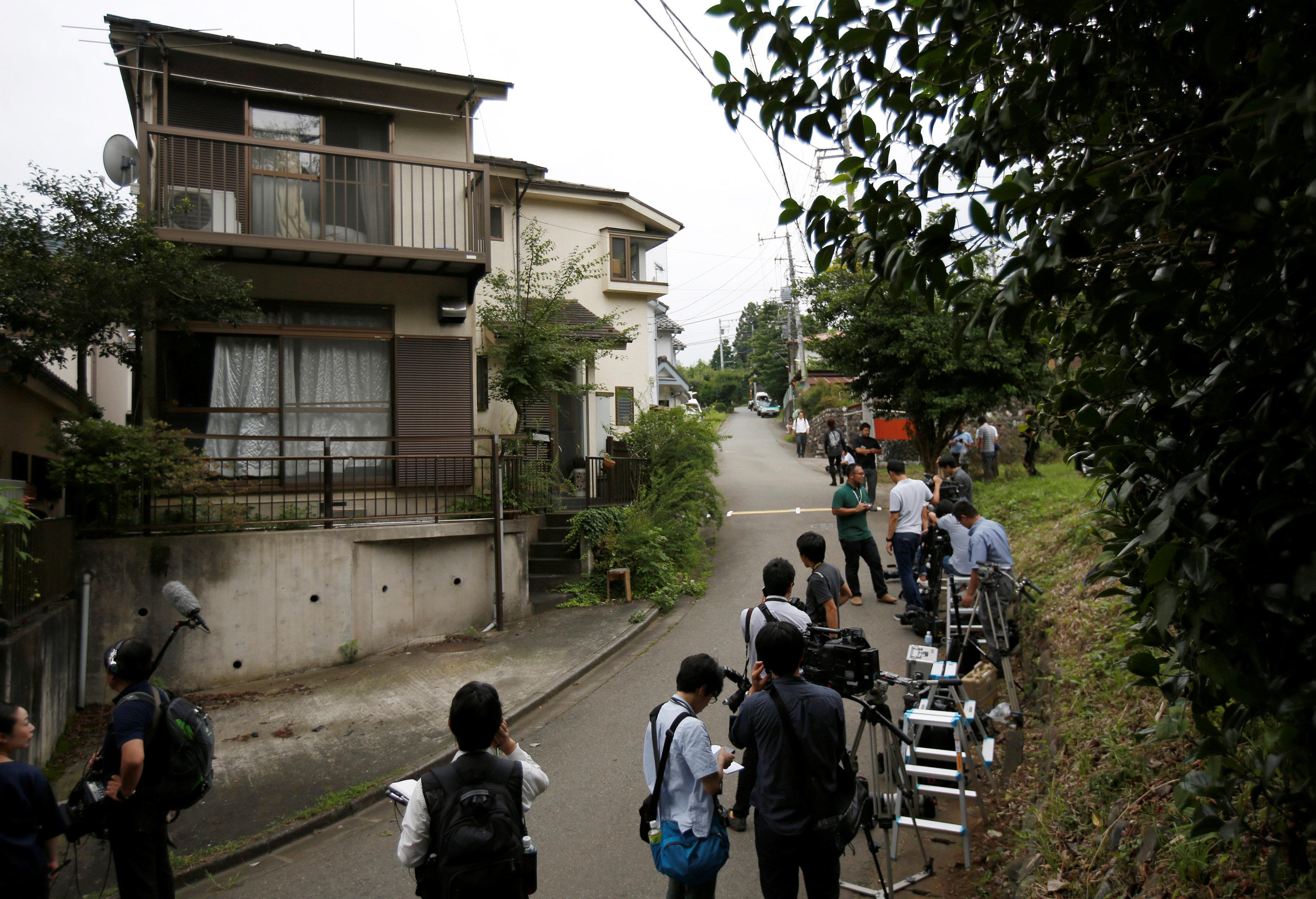 Japan knife attacker's home
