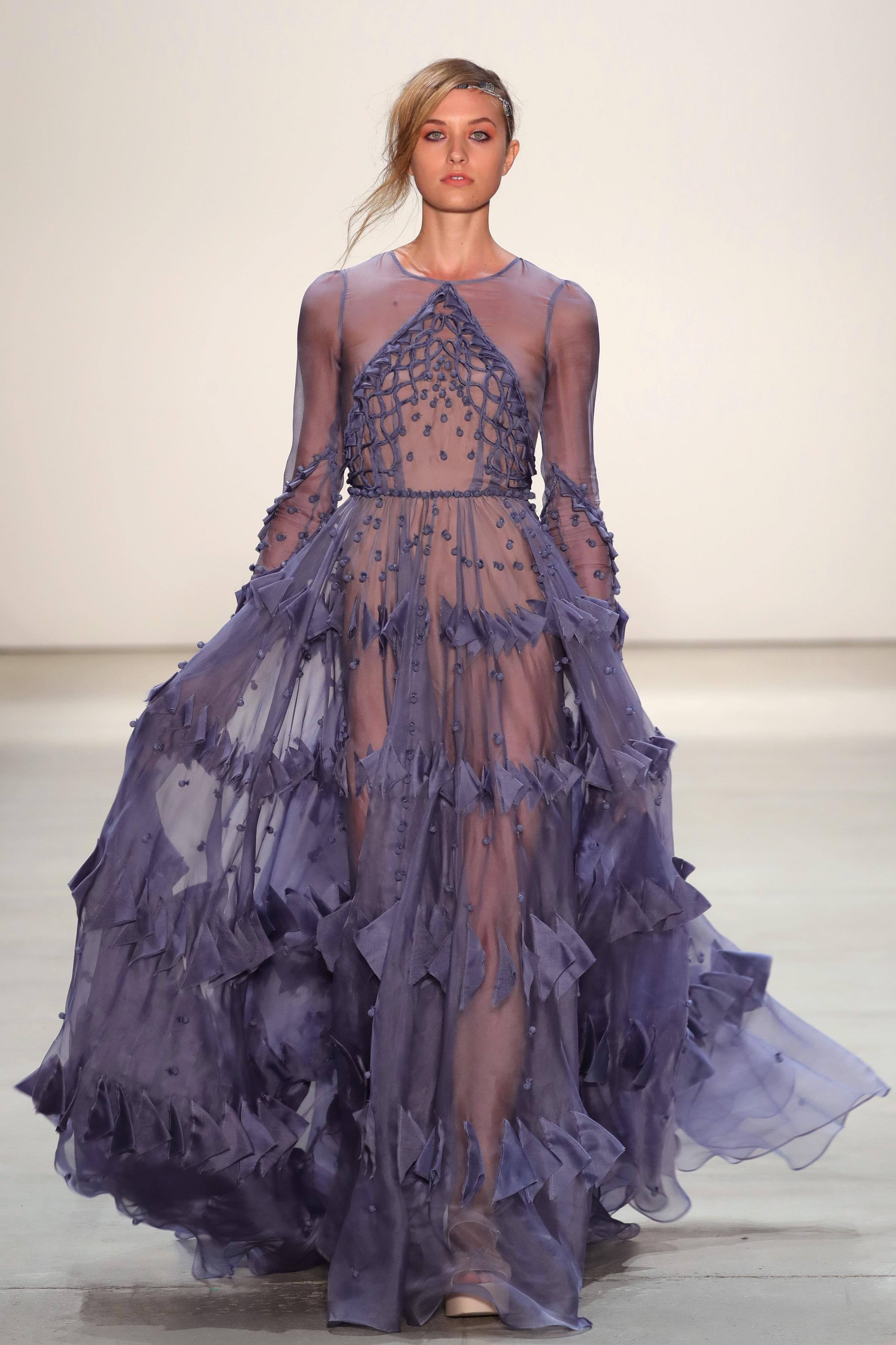 Leanne Marshall The Finale Dress During S New York Fashion Week