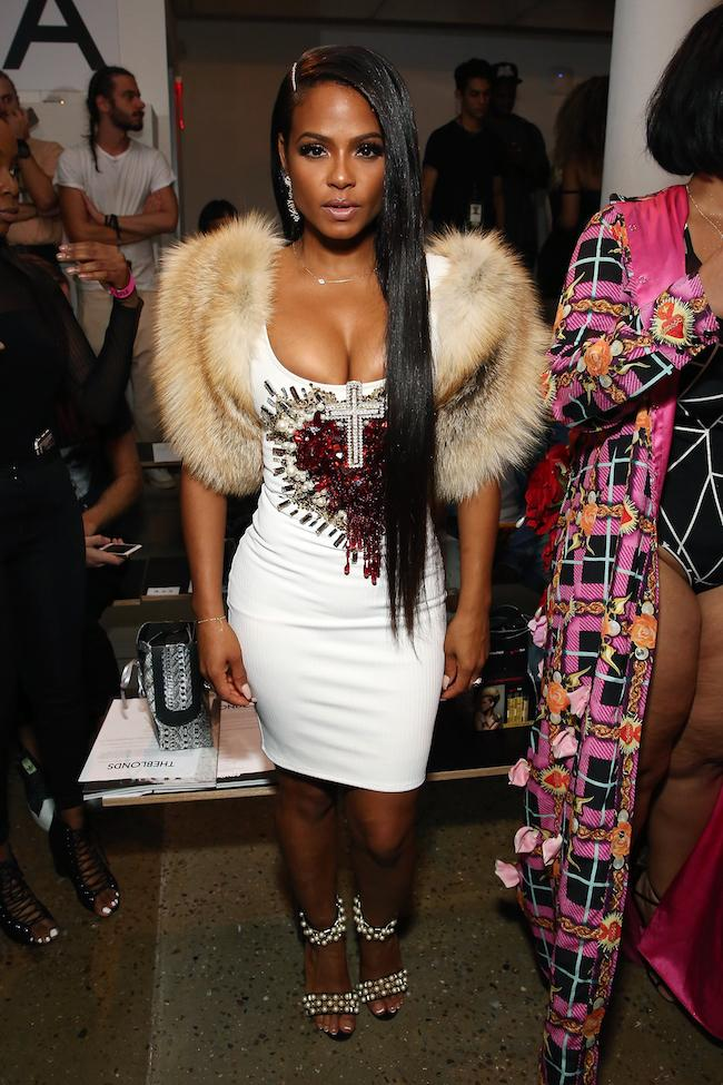 #1: Christina Milian At The Blonds