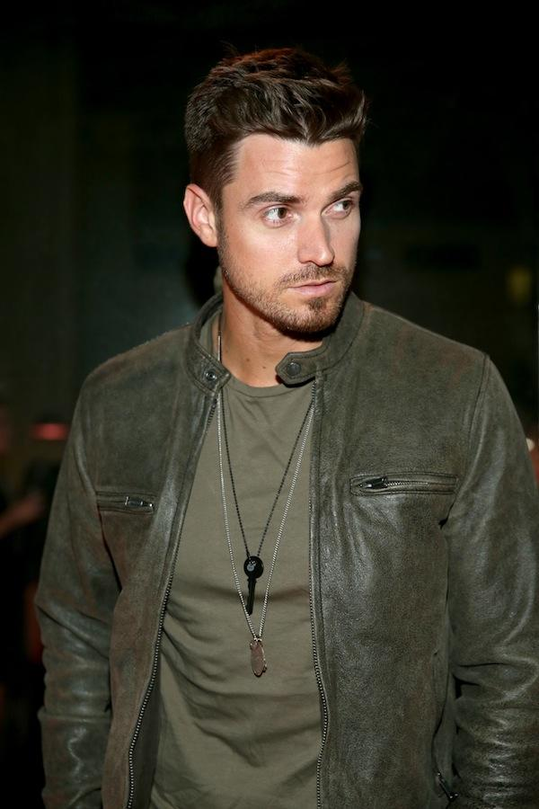 The Bachelorette Star Luke Pell Received A Hand Stamped LOVE Matte Black Key Necklace Of Course He Did Photo Jonathan Leibson