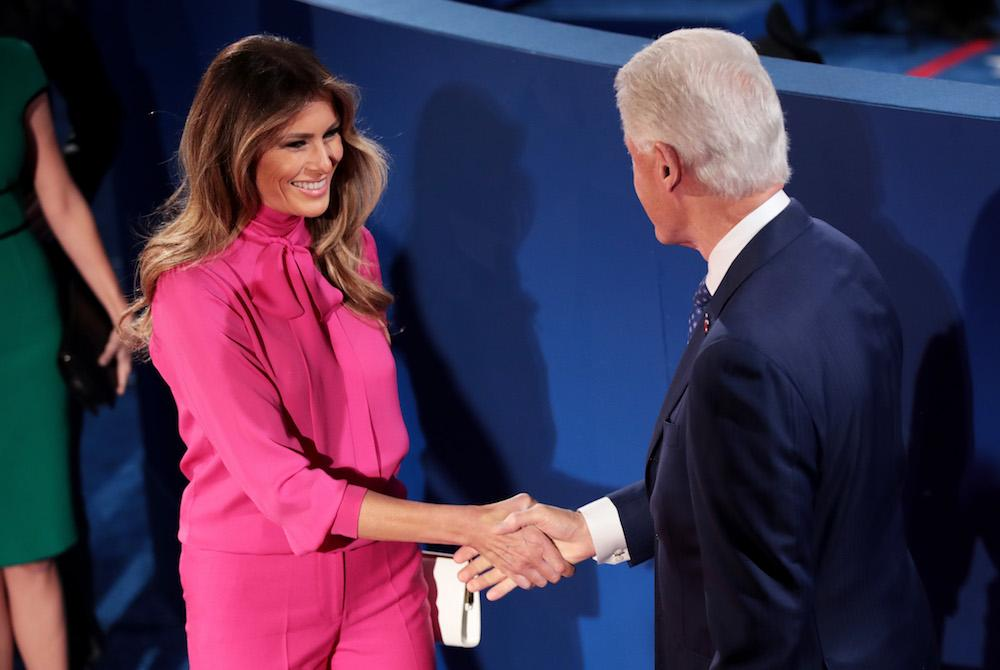 what is a pussy bow blouse? the surprising history behind melania, Human Body