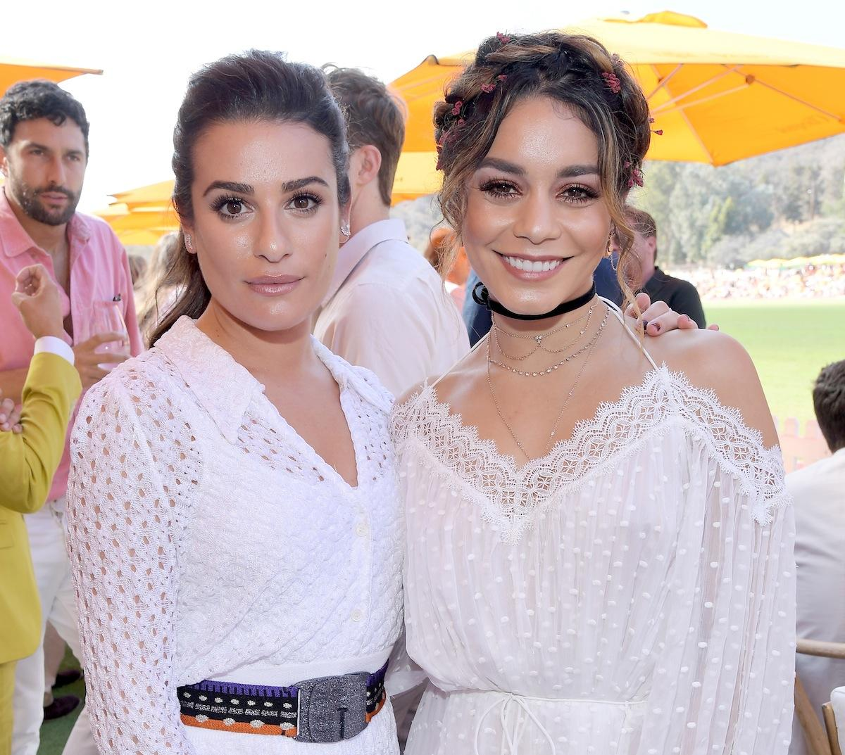 Lea Michele and Vanessa Hudgens