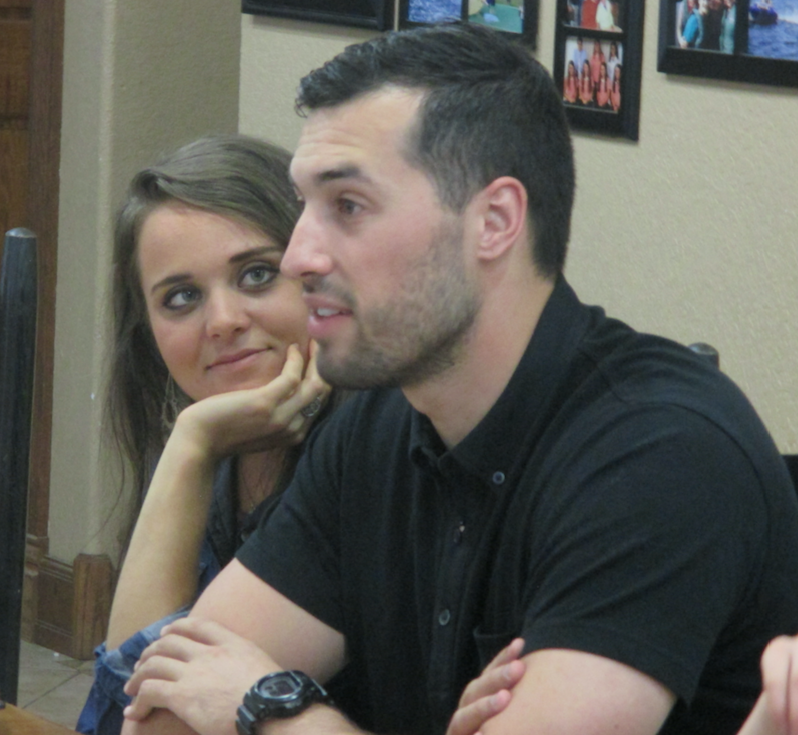 Jinger and Jeremy Duggar