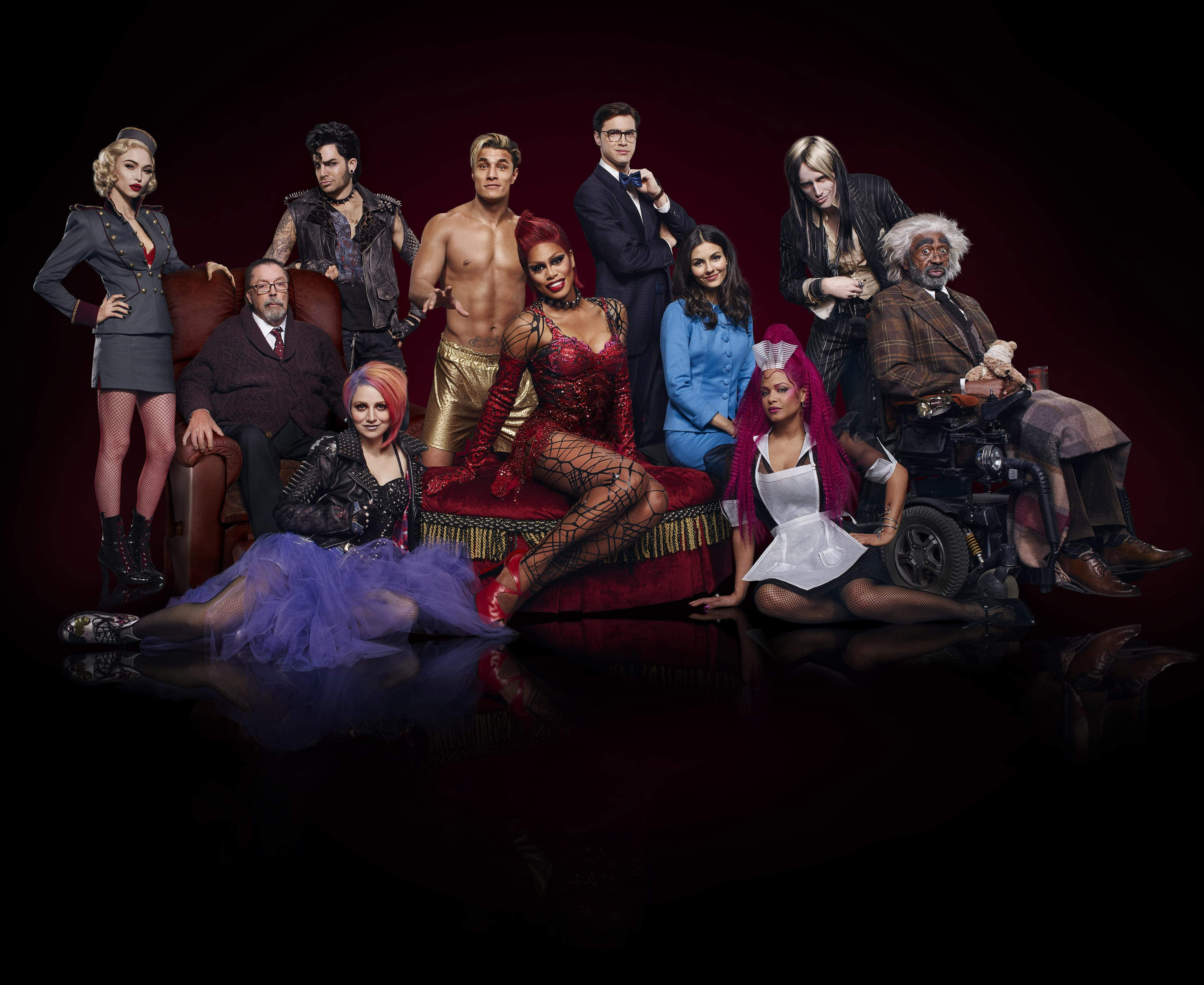 New Rocky Horror Cast