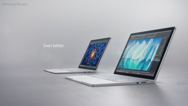 new surface book