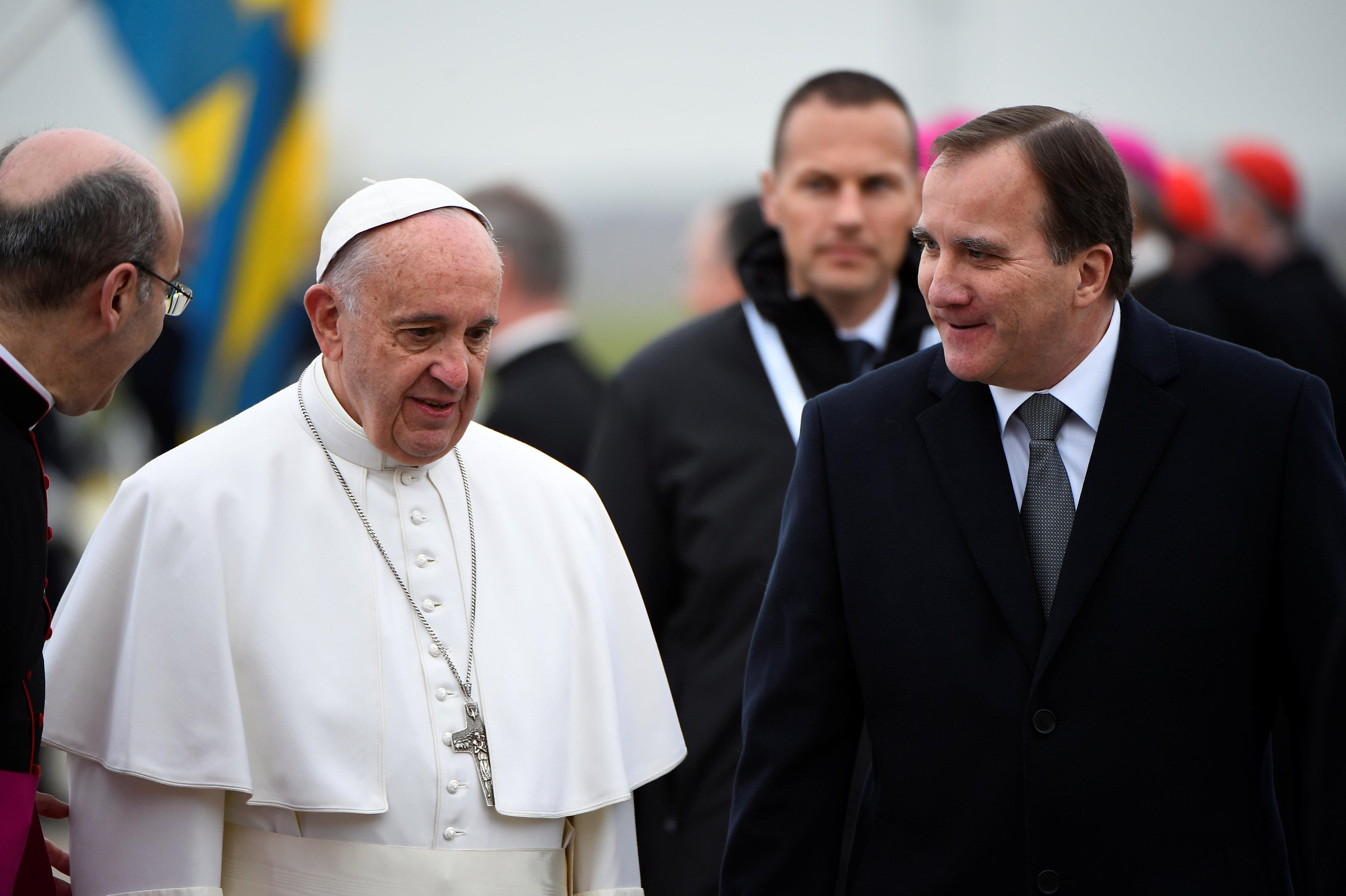 Pope Francis in Sweden