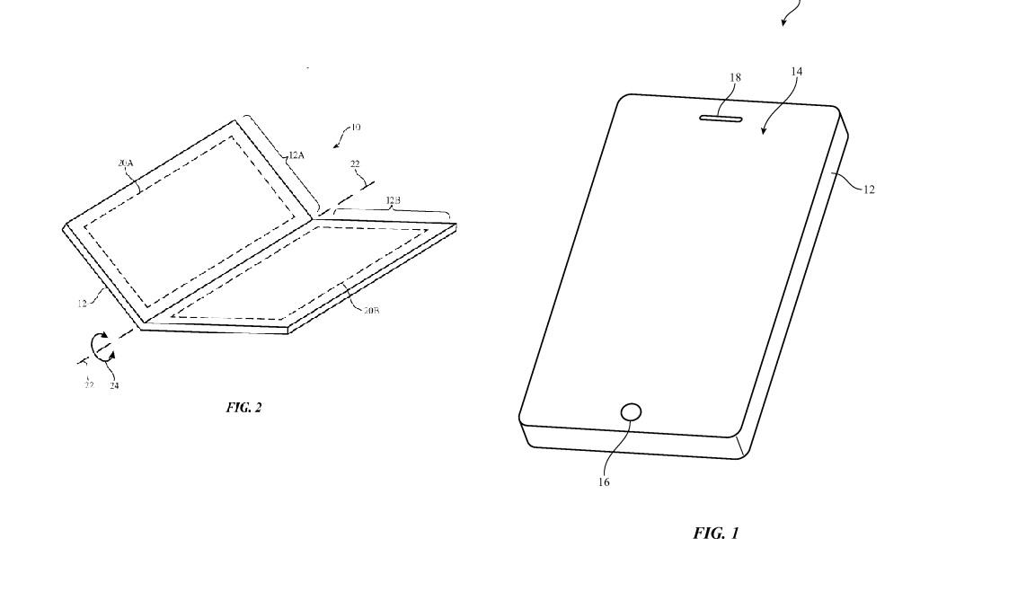 Apple Bendable Phone Patent