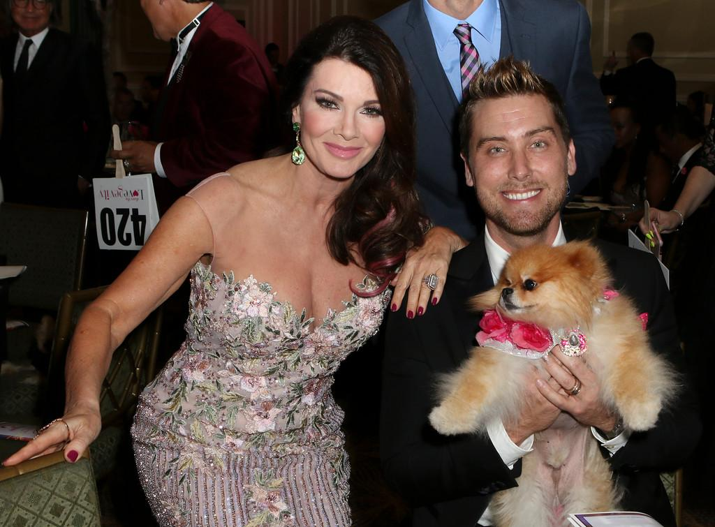 Lisa Vanderpump, Lance Bass