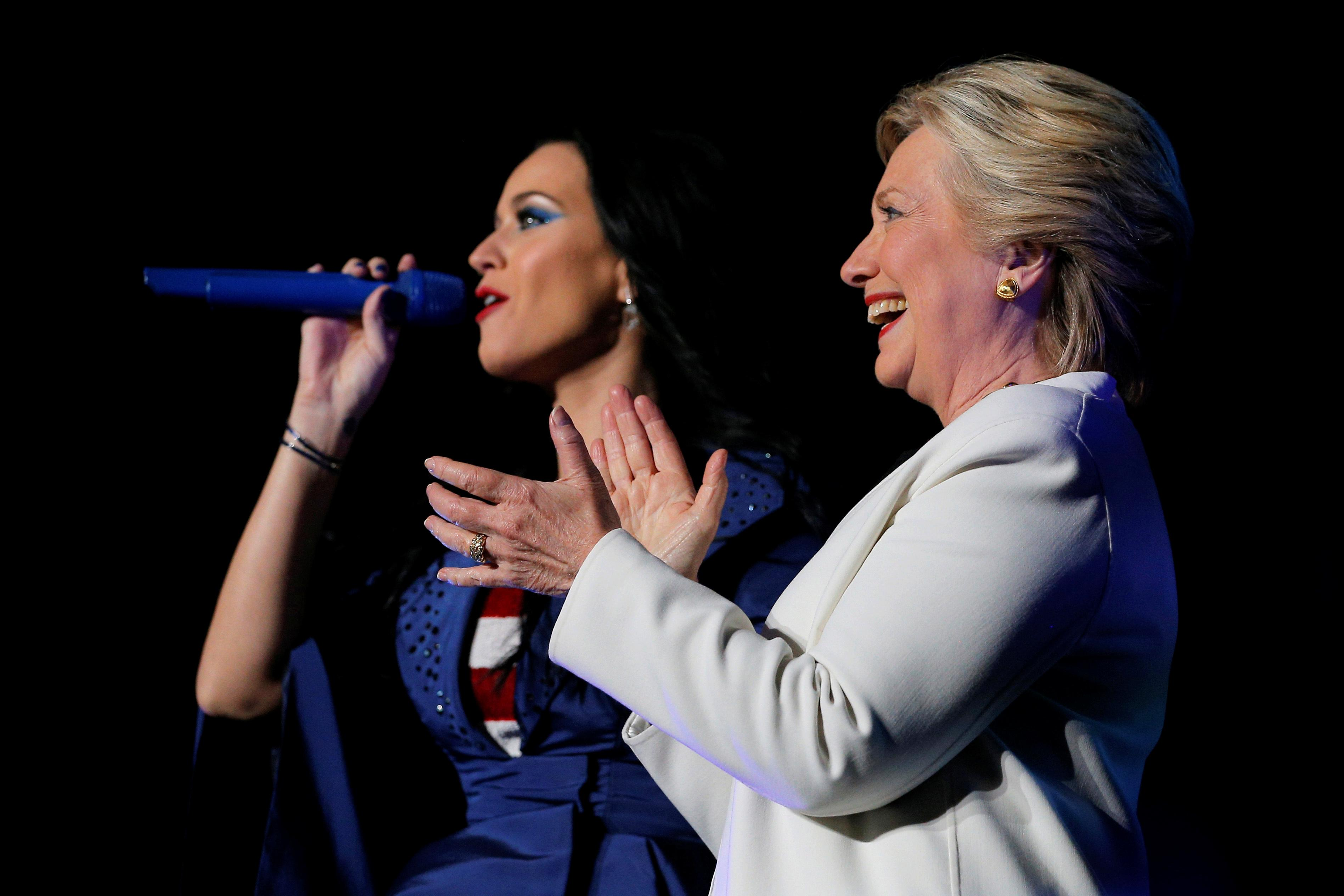 katy perry for clinton