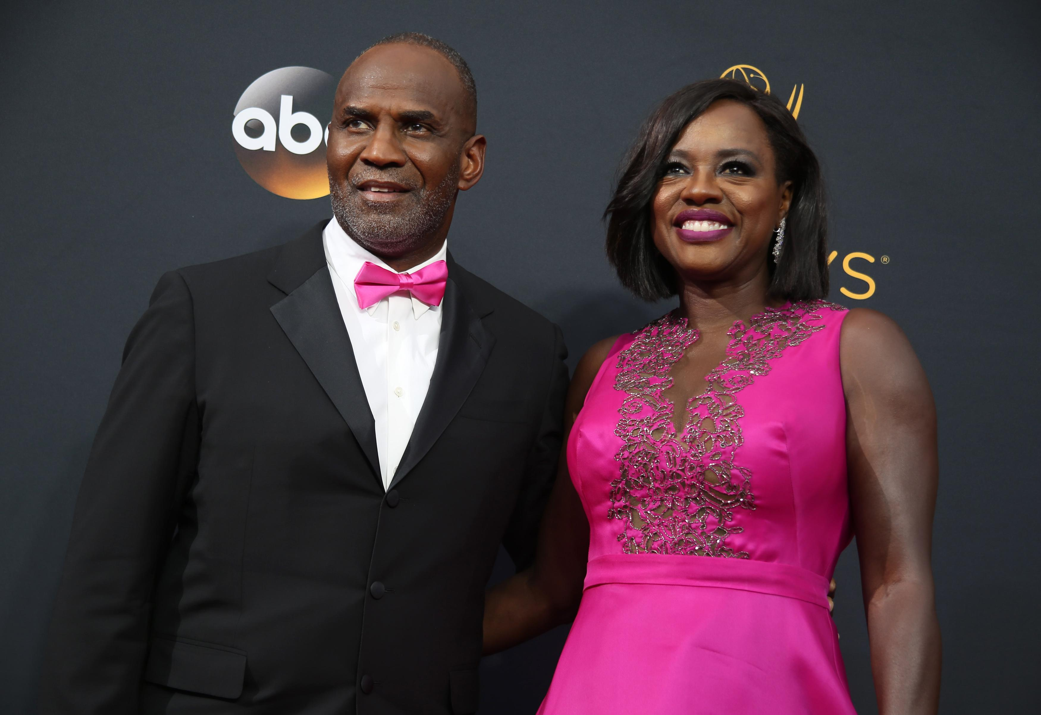 Viola Davis and her husband Julius Tennon